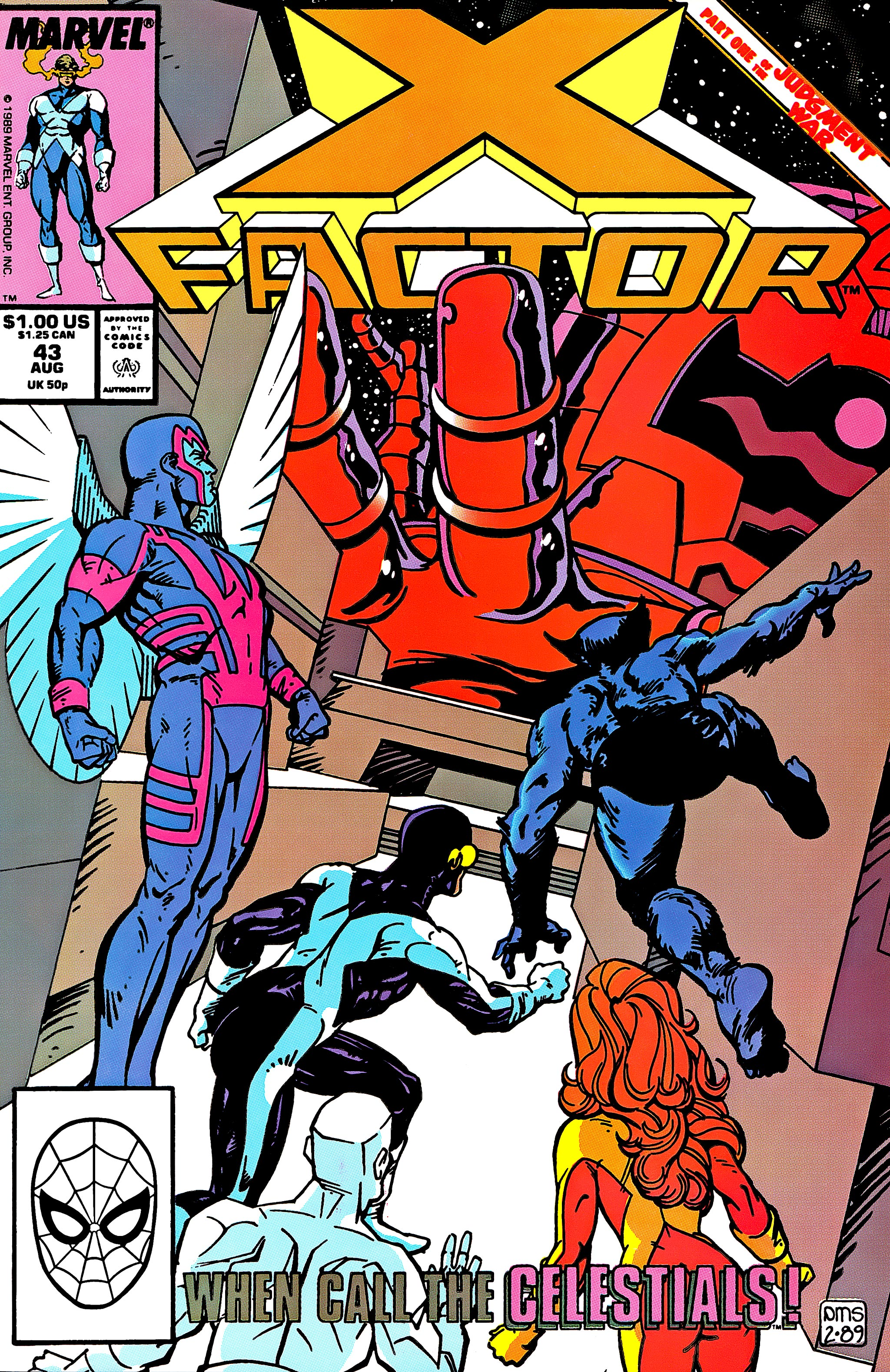 Read online X-Factor (1986) comic -  Issue #43 - 1