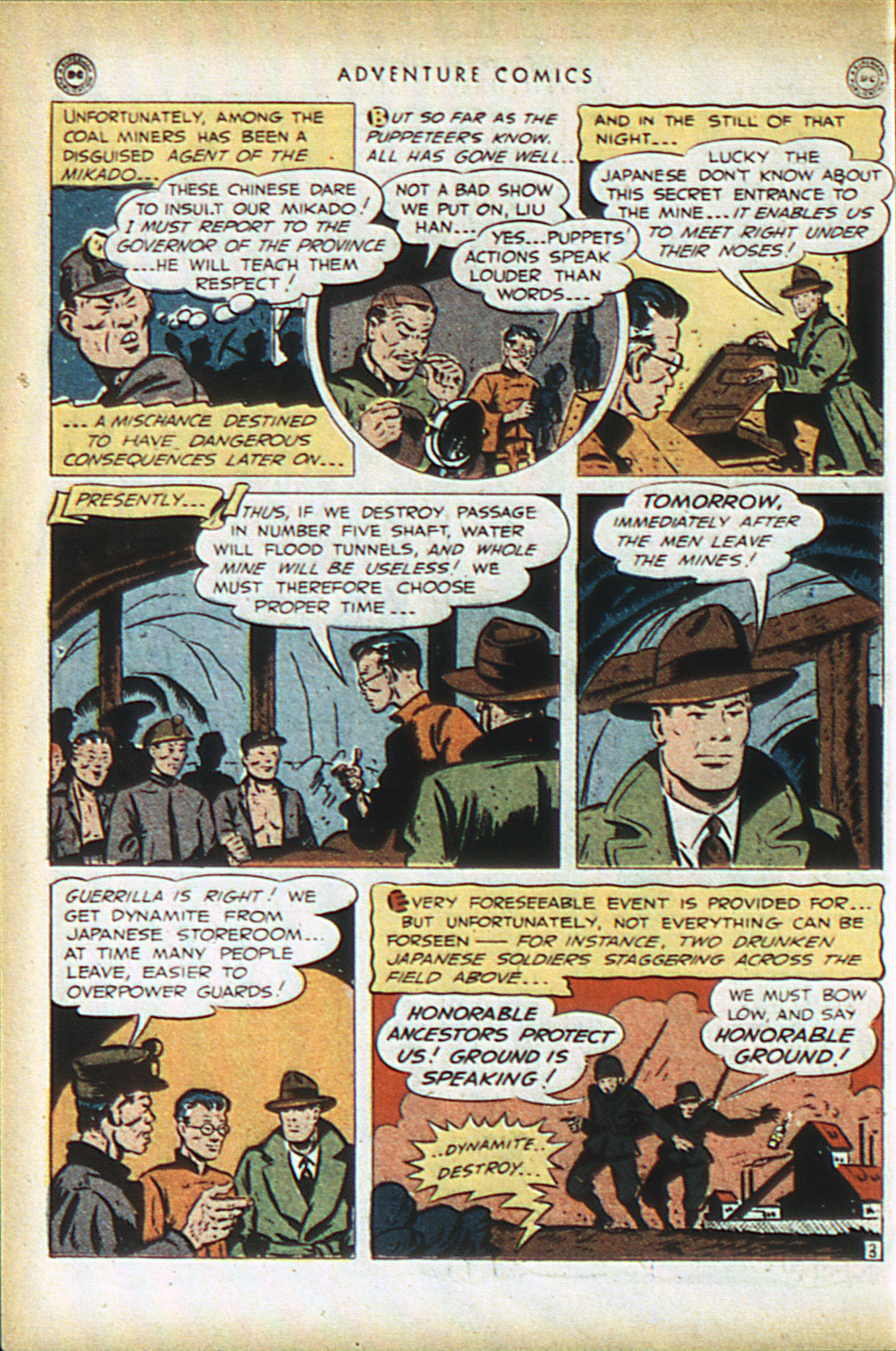 Read online Adventure Comics (1938) comic -  Issue #93 - 45