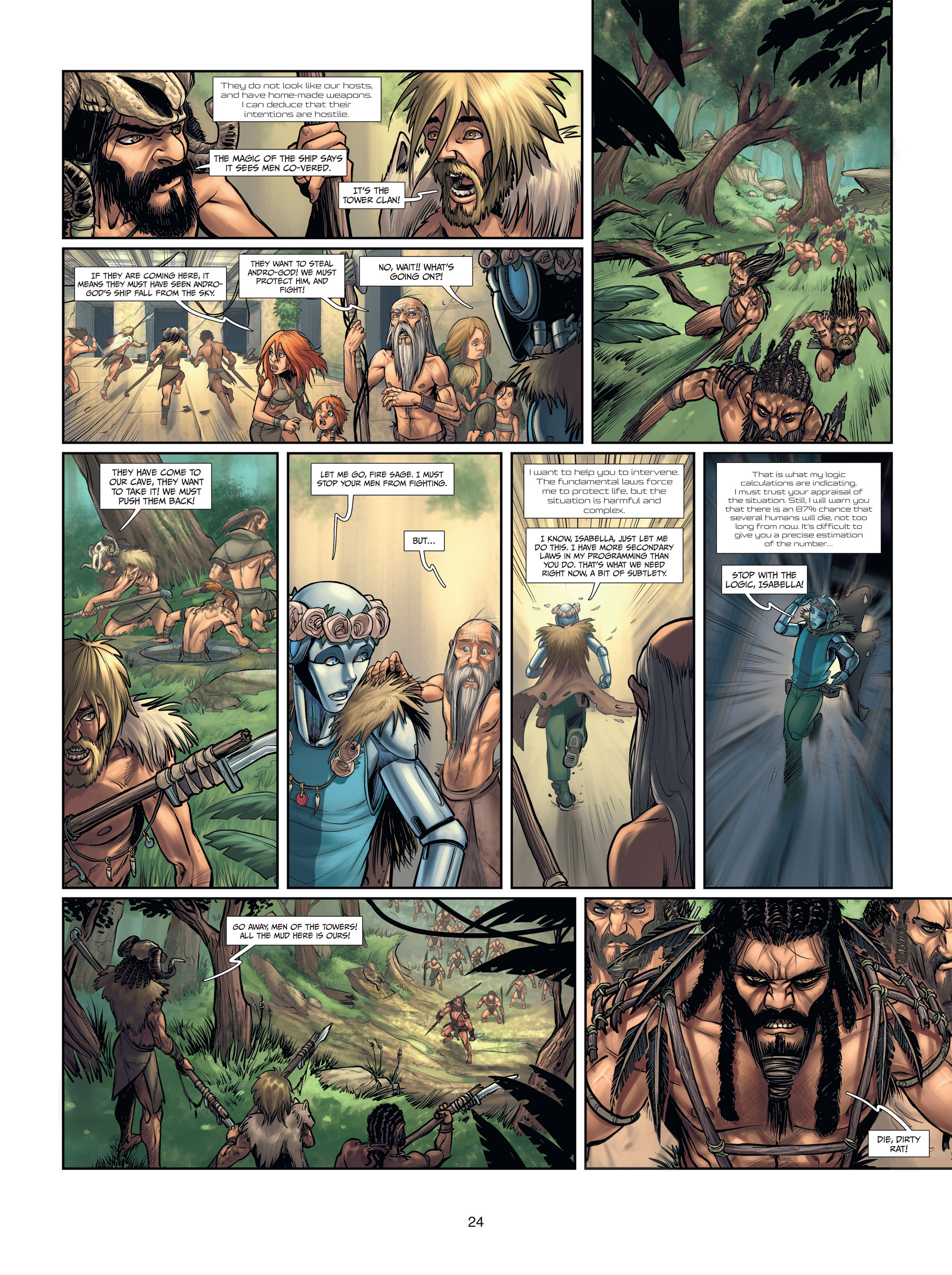 Read online Androïds comic -  Issue #2 - 24