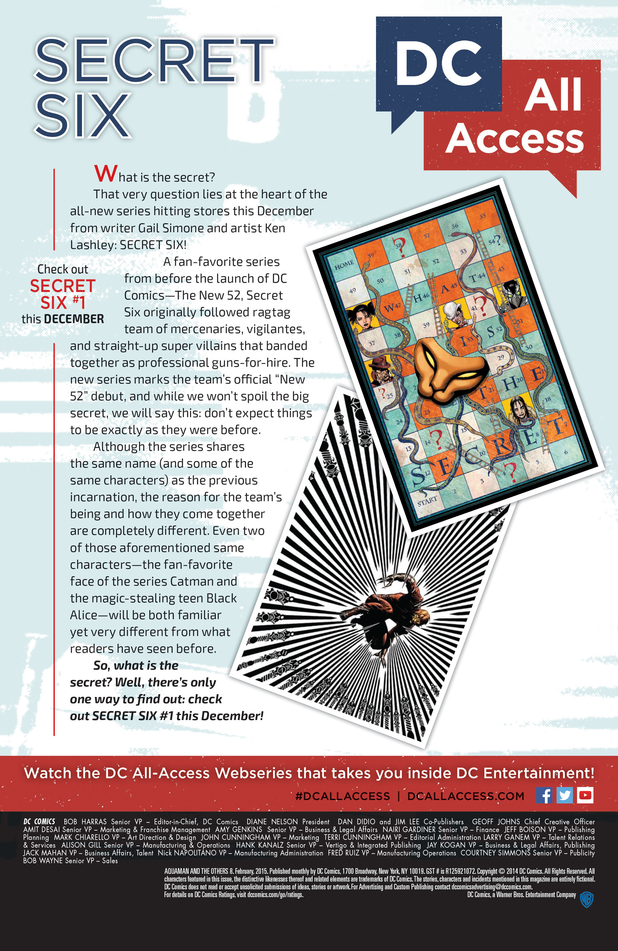 Read online Aquaman and the Others comic -  Issue #8 - 22