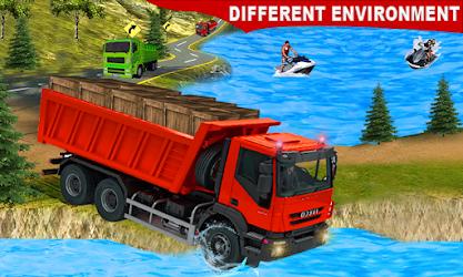 game simulasi mengemudi truk muatan