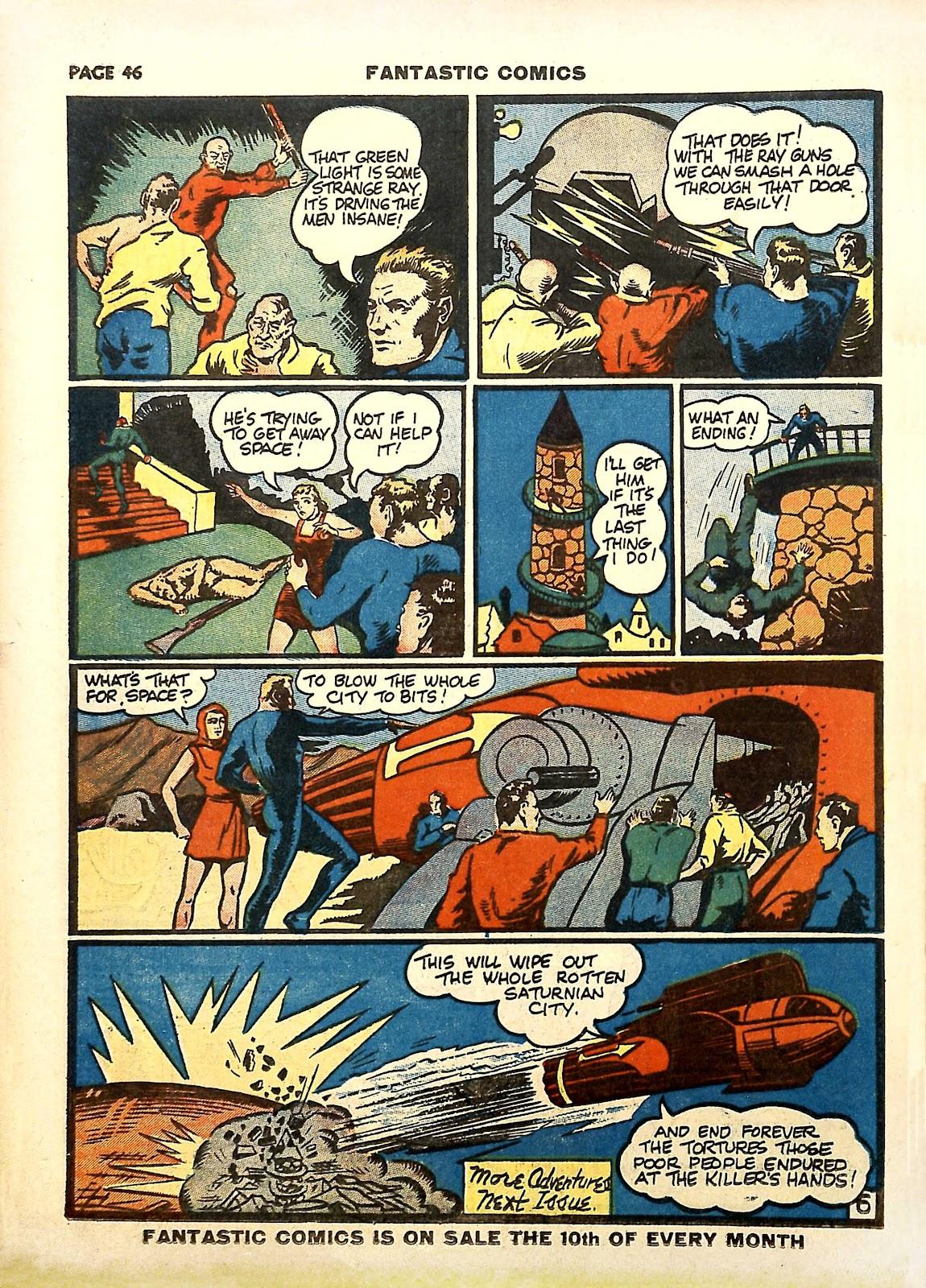 Read online Fantastic Comics comic -  Issue #11 - 49