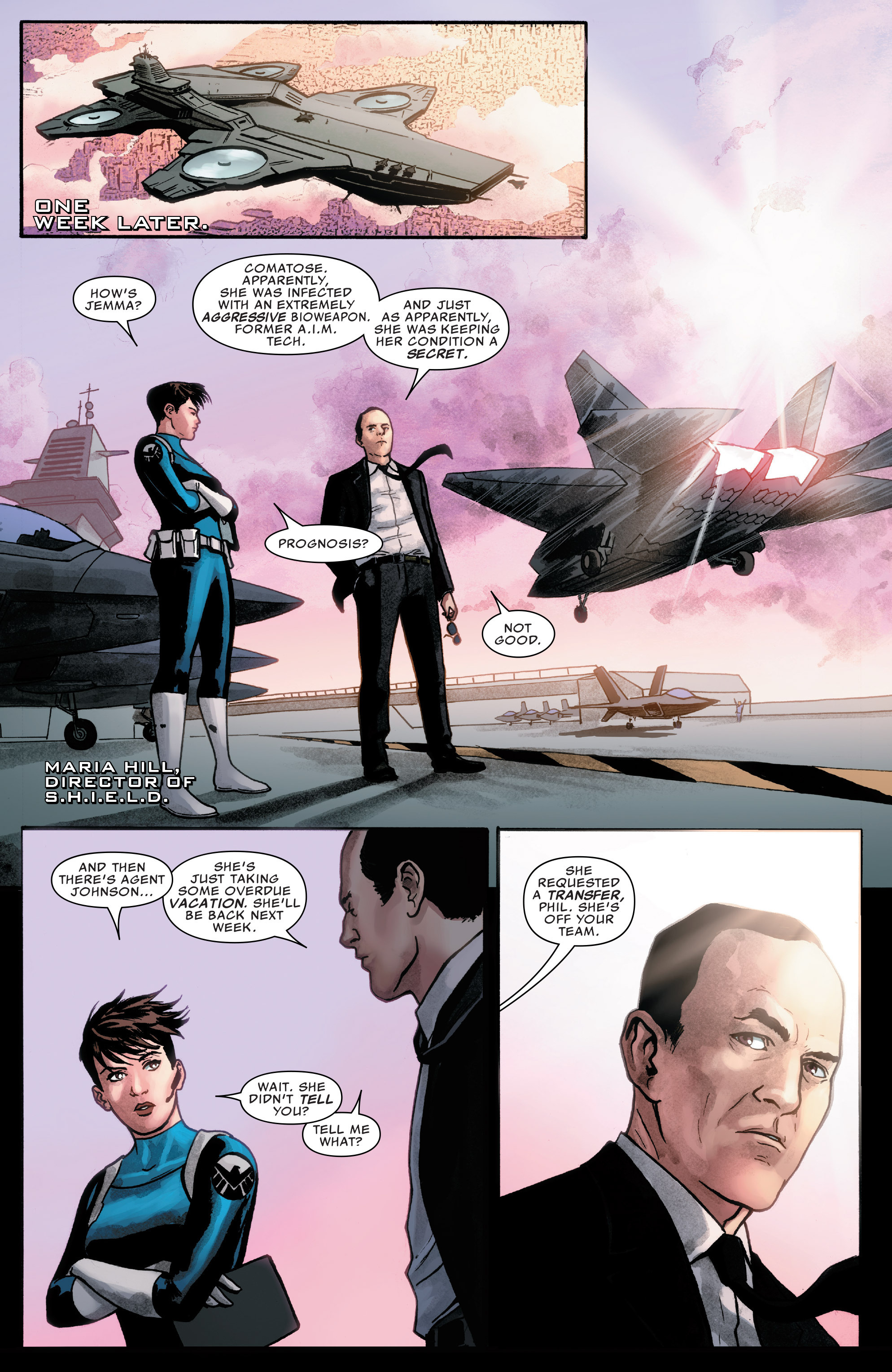 Read online Agents of S.H.I.E.L.D. comic -  Issue #7 - 7