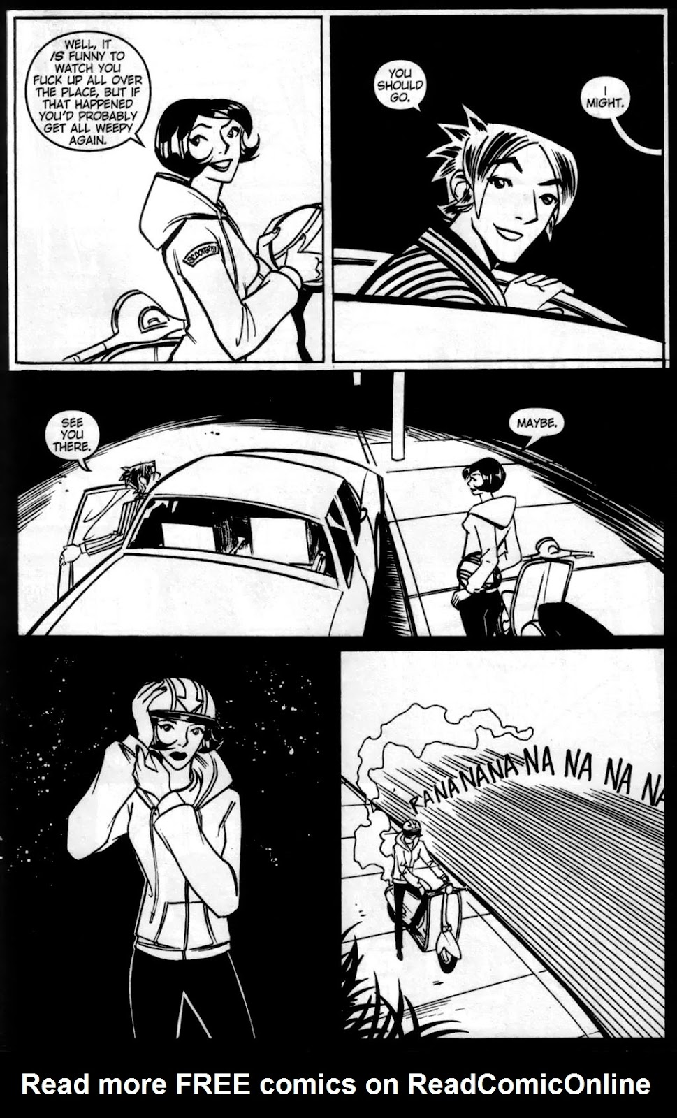 Read online Scooter Girl comic -  Issue #5 - 11