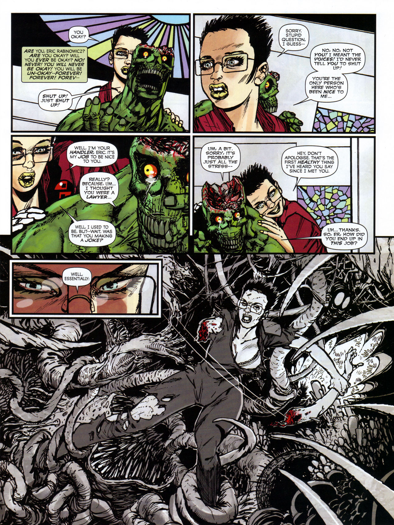 Read online 2000 AD comic -  Issue #1746 - 123