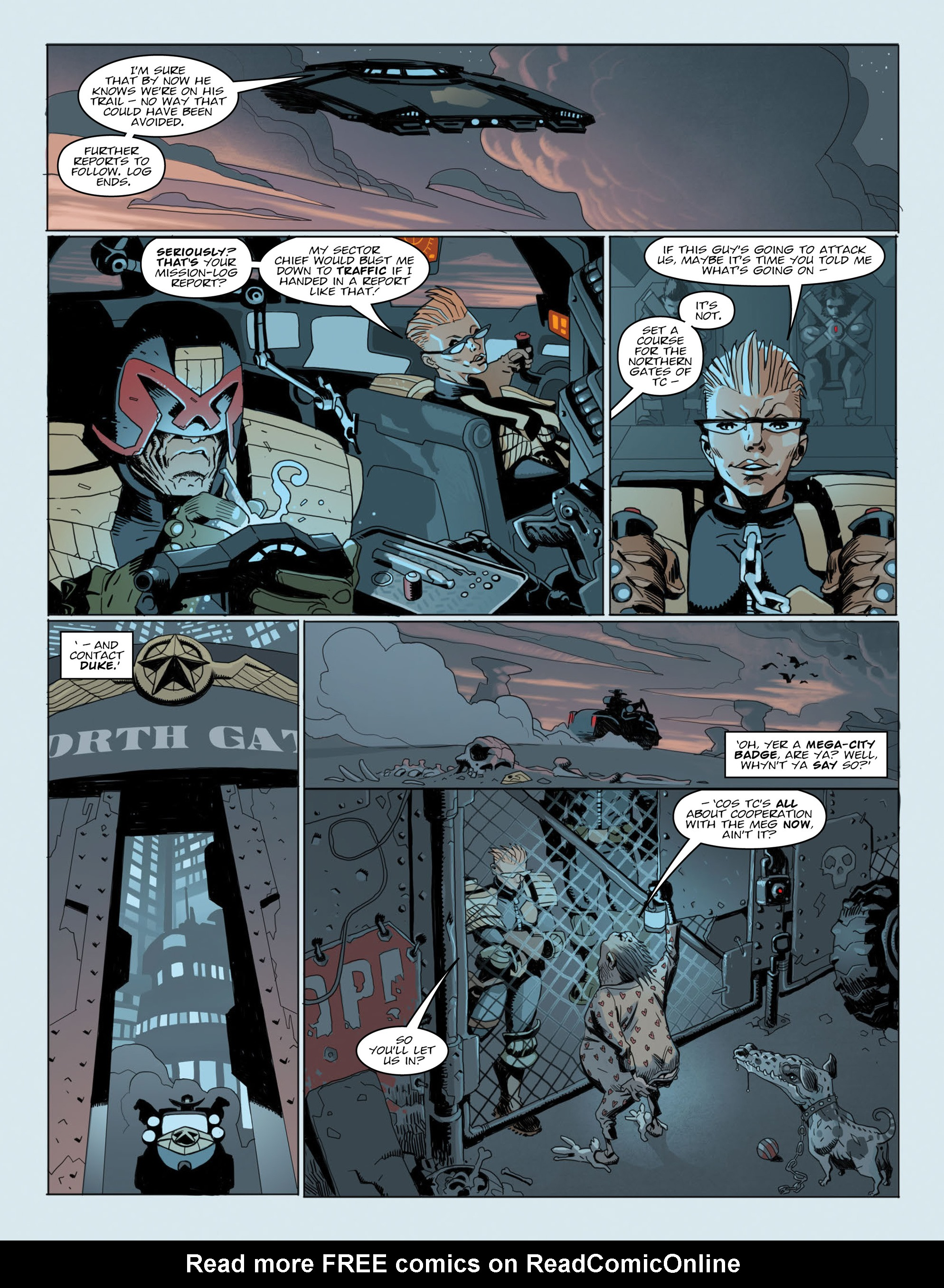 Read online 2000 AD comic -  Issue #2015 - 6