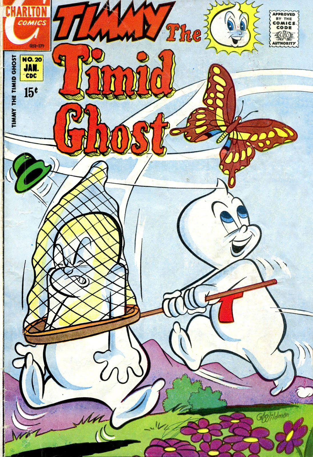 Timmy the Timid Ghost issue 20 - Page 1