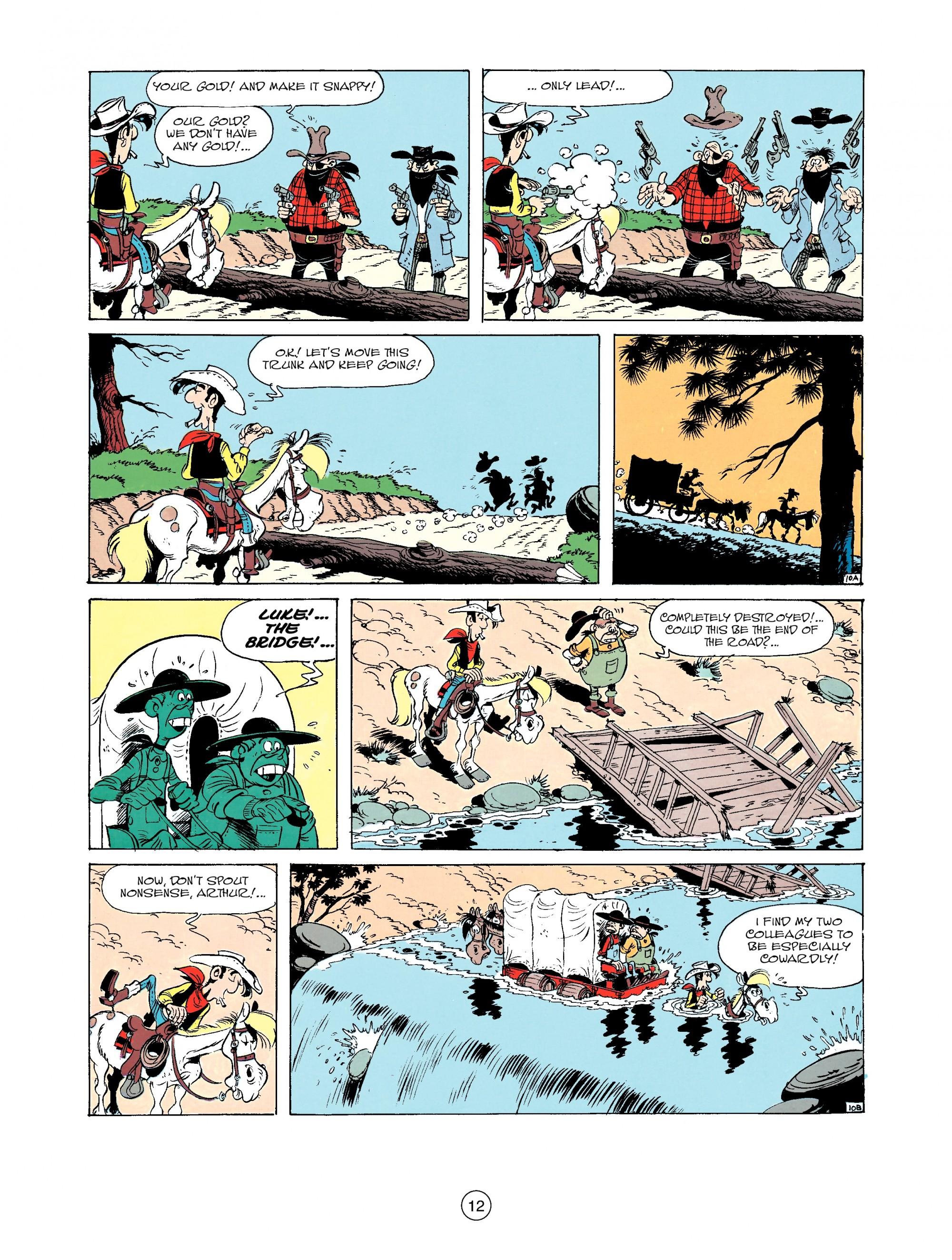 Read online A Lucky Luke Adventure comic -  Issue #33 - 12