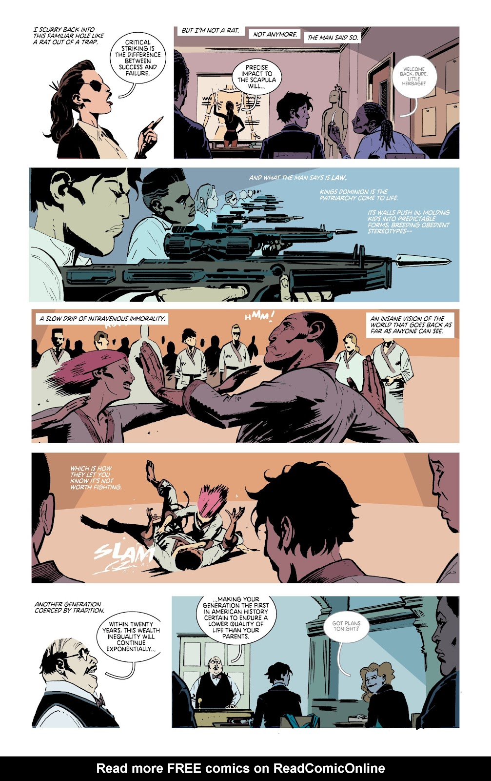Read online Deadly Class comic -  Issue #38 - 19