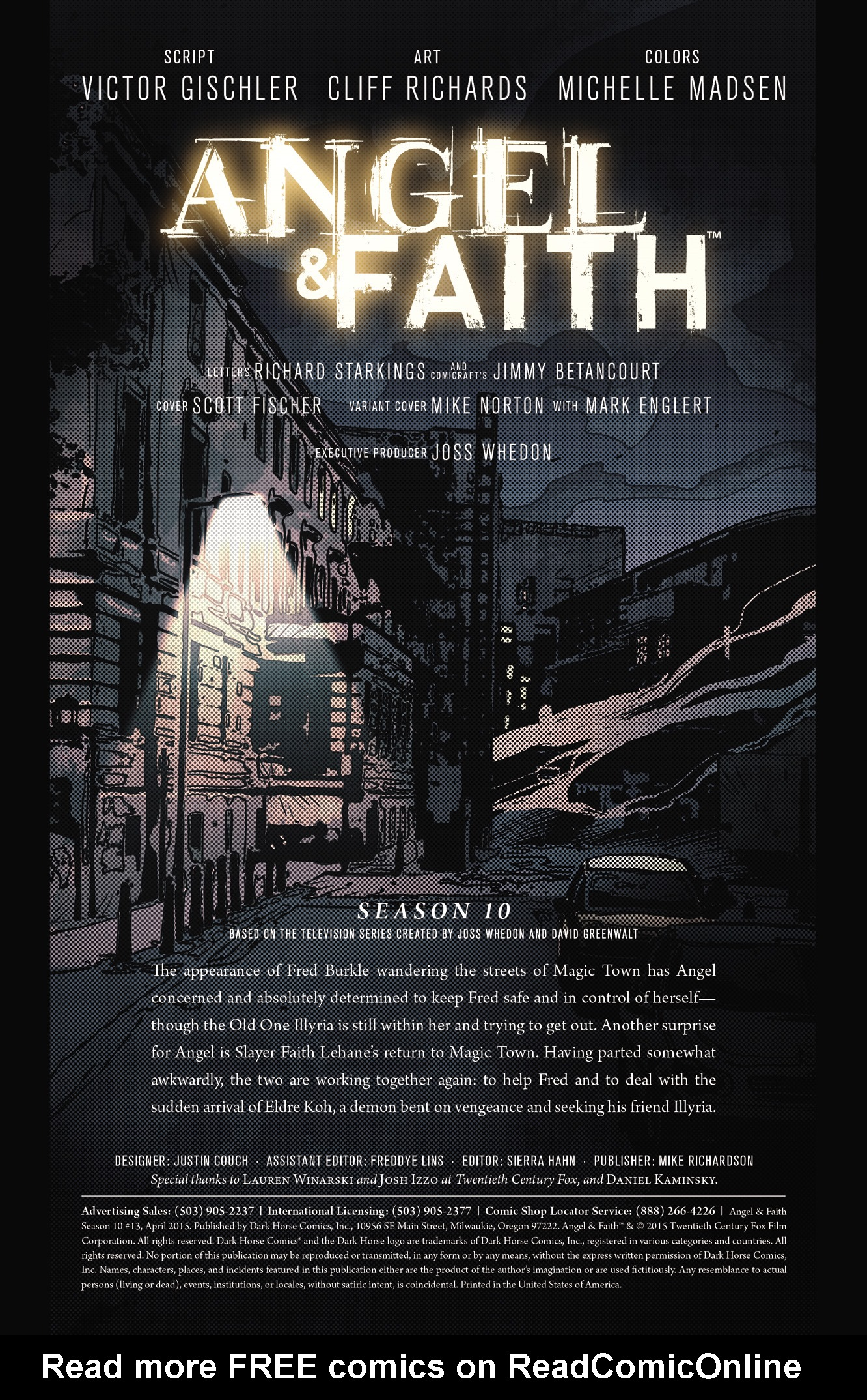 Read online Angel & Faith Season 10 comic -  Issue #13 - 2