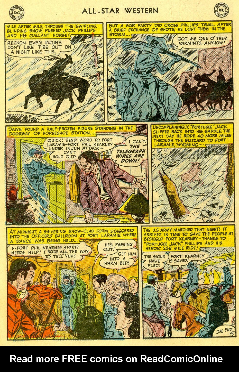 Read online All-Star Western (1951) comic -  Issue #82 - 18