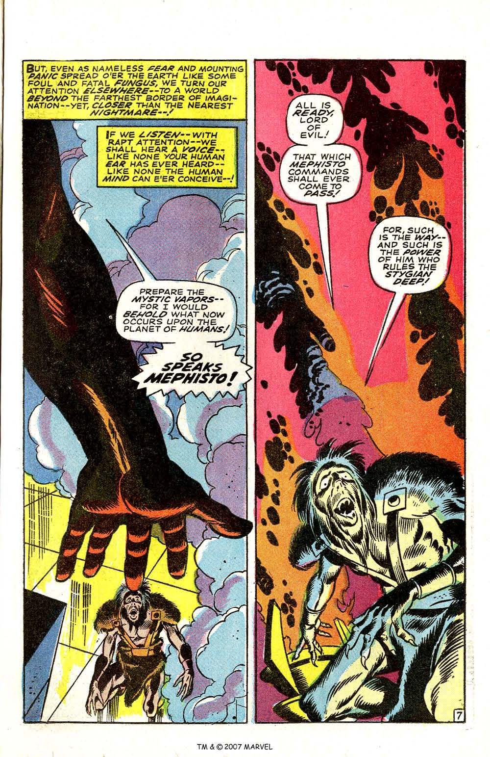 Silver Surfer (1968) issue 3 - Page 9