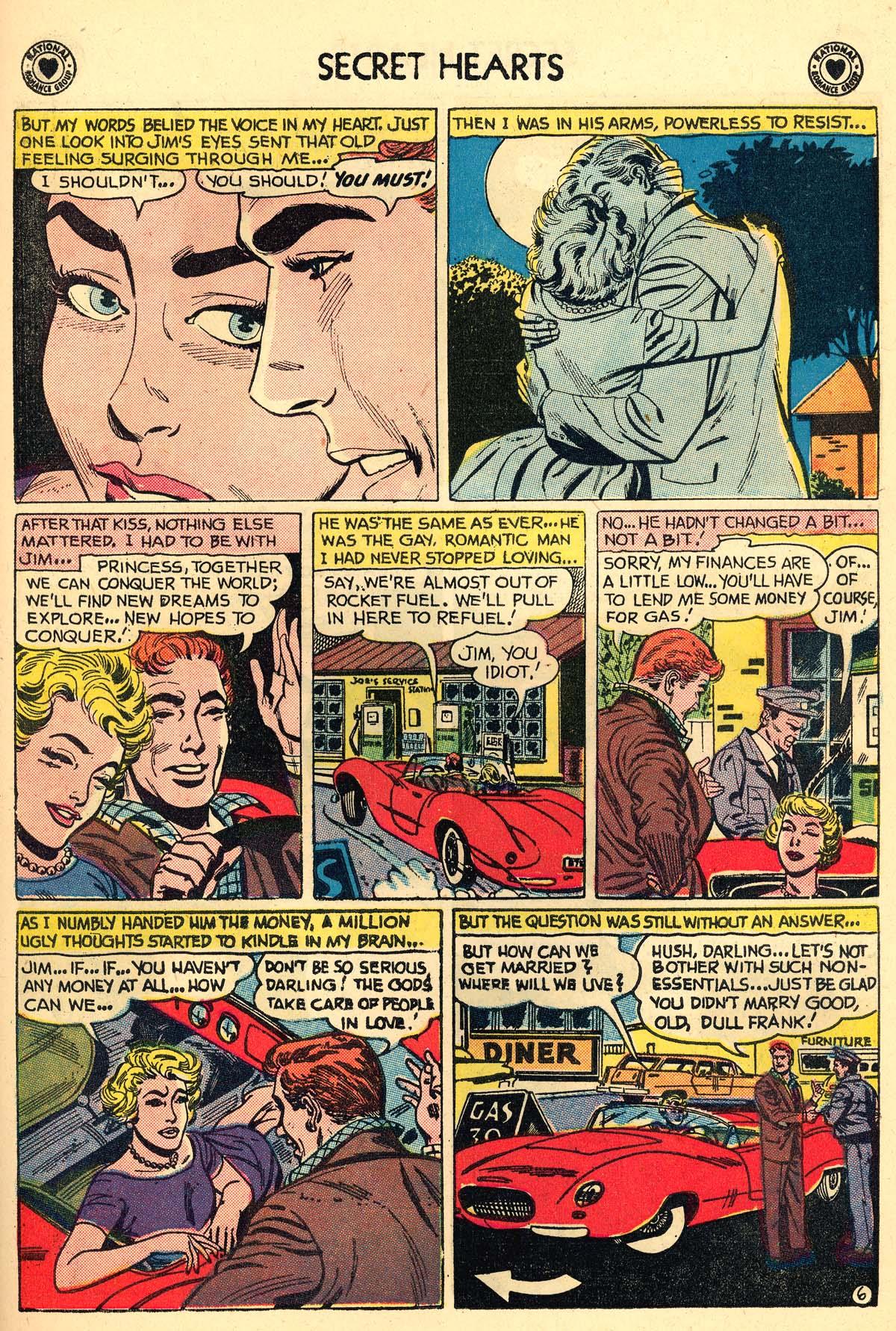 Read online Secret Hearts comic -  Issue #59 - 23