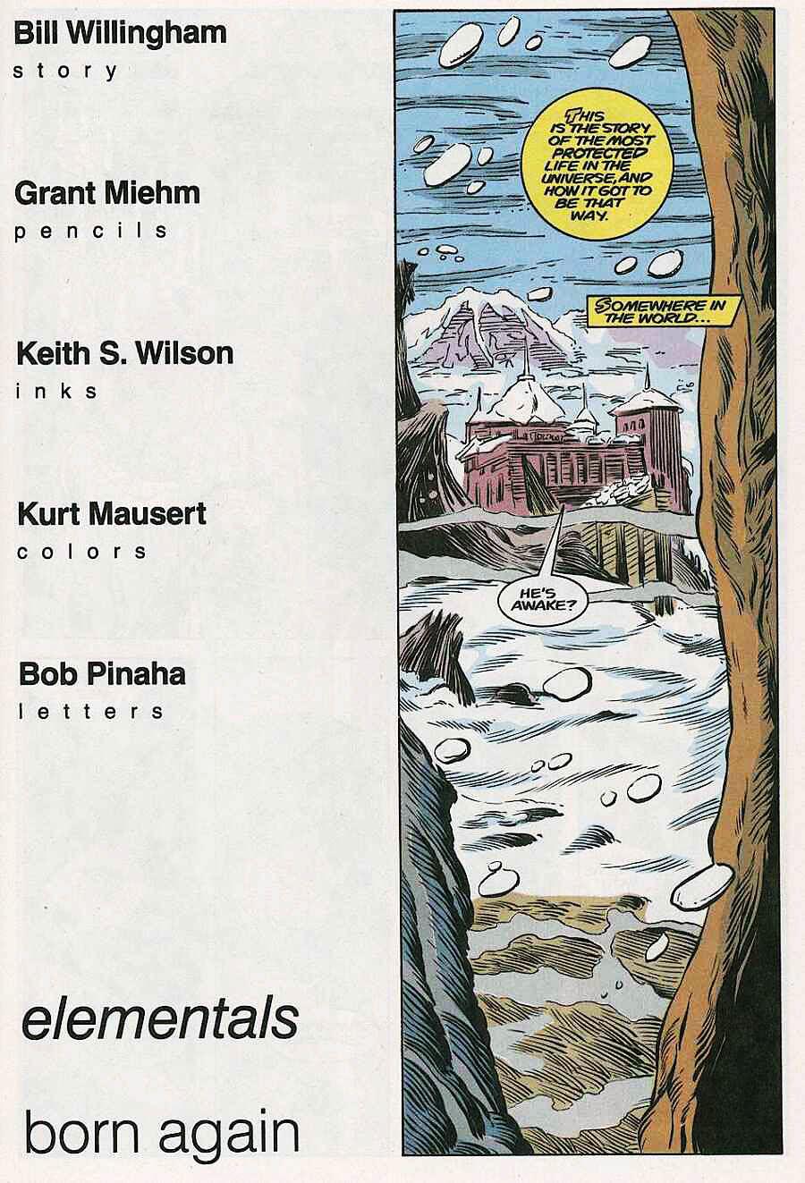 Elementals (1984) issue 18 - Page 3