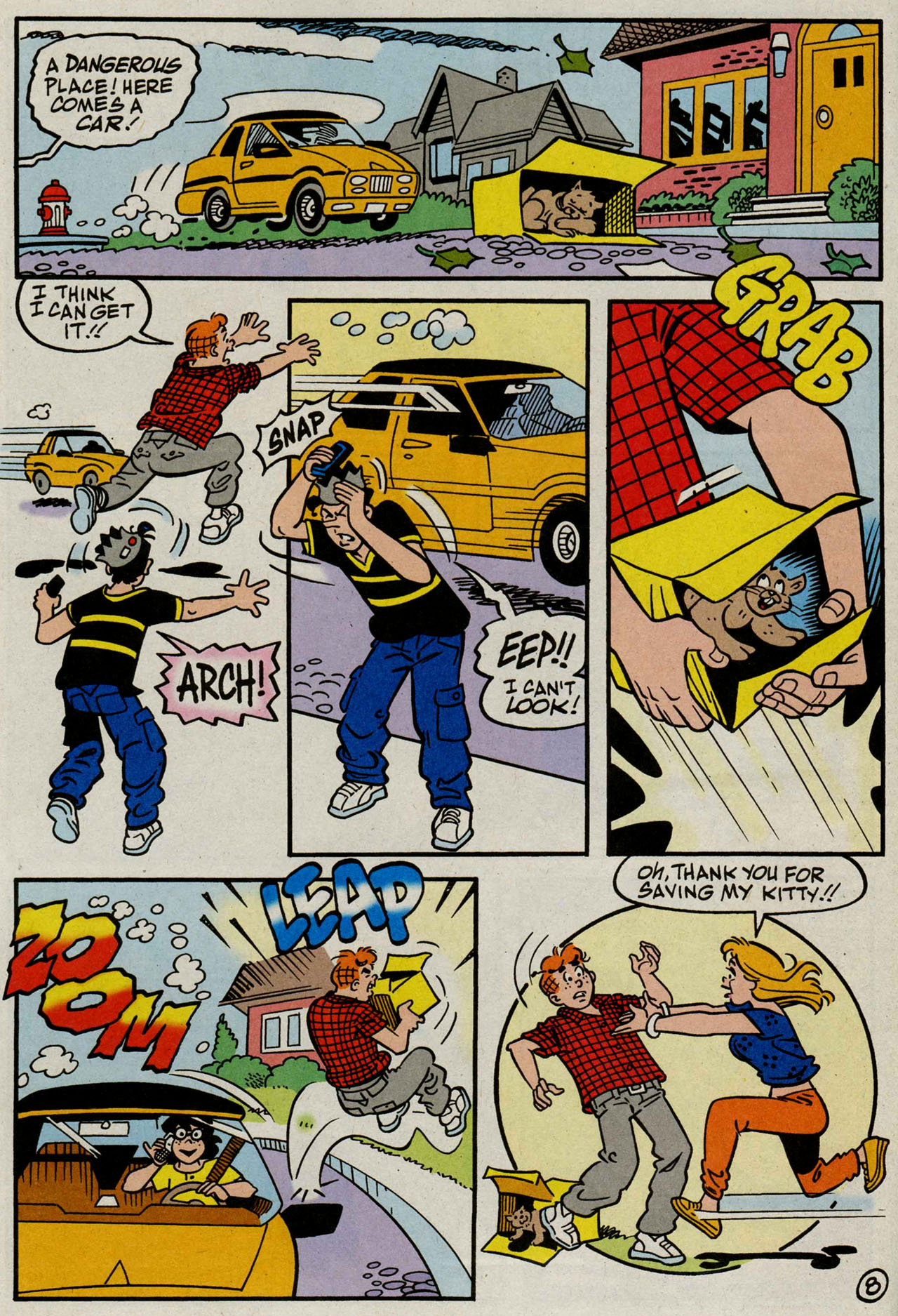 Read online Archie (1960) comic -  Issue #586 - 9