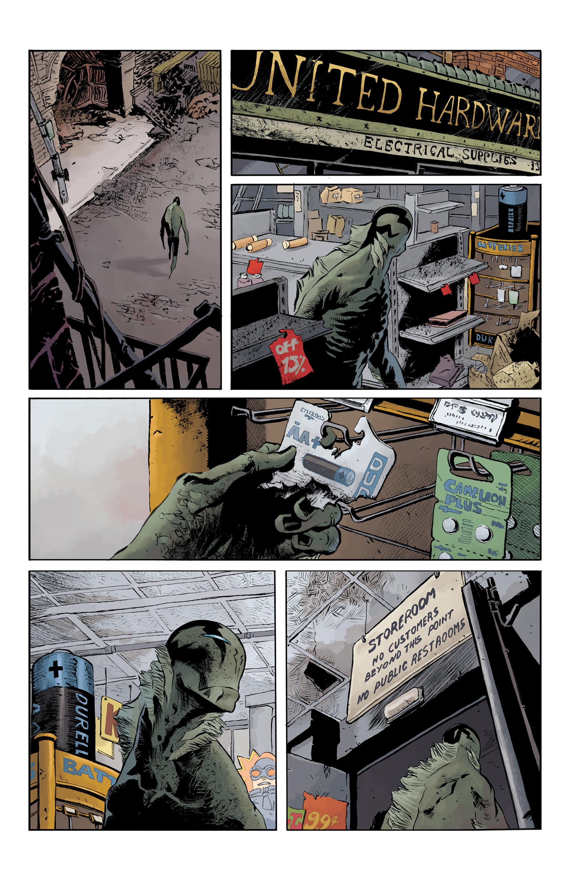 Read online Abe Sapien comic -  Issue #32 - 7