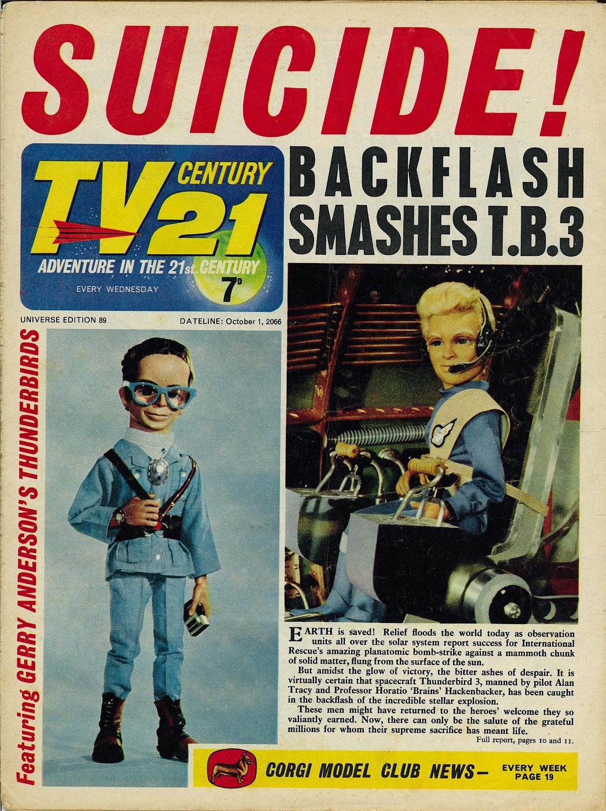 TV Century 21 (TV 21) 89 Page 1