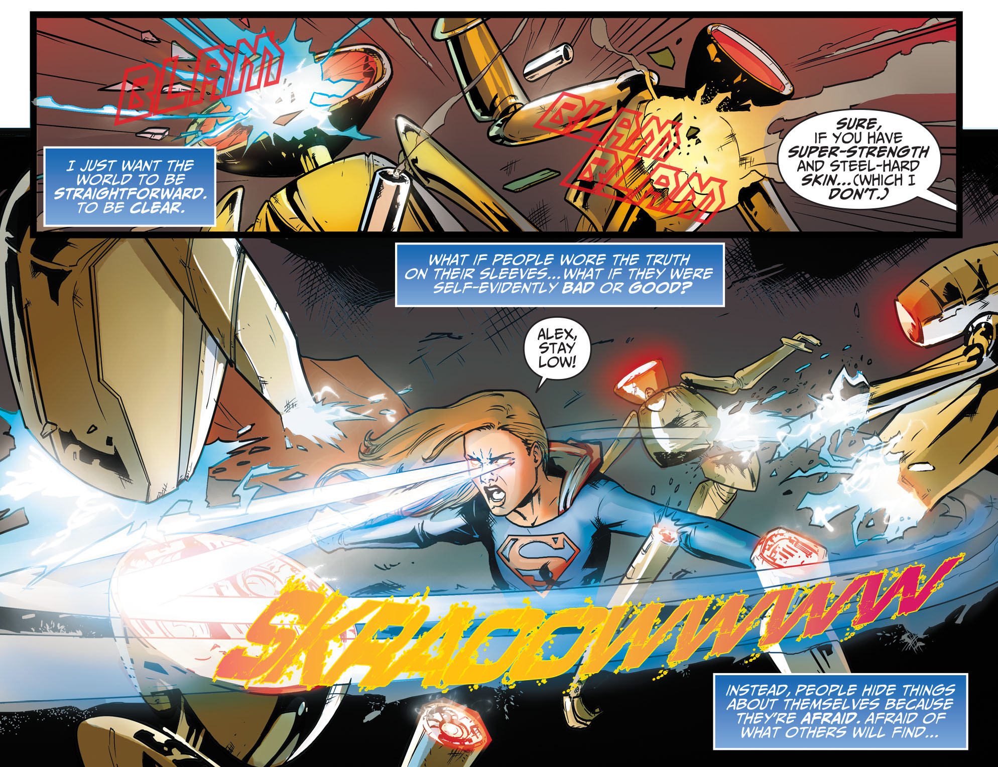 Read online Adventures of Supergirl comic -  Issue #9 - 4