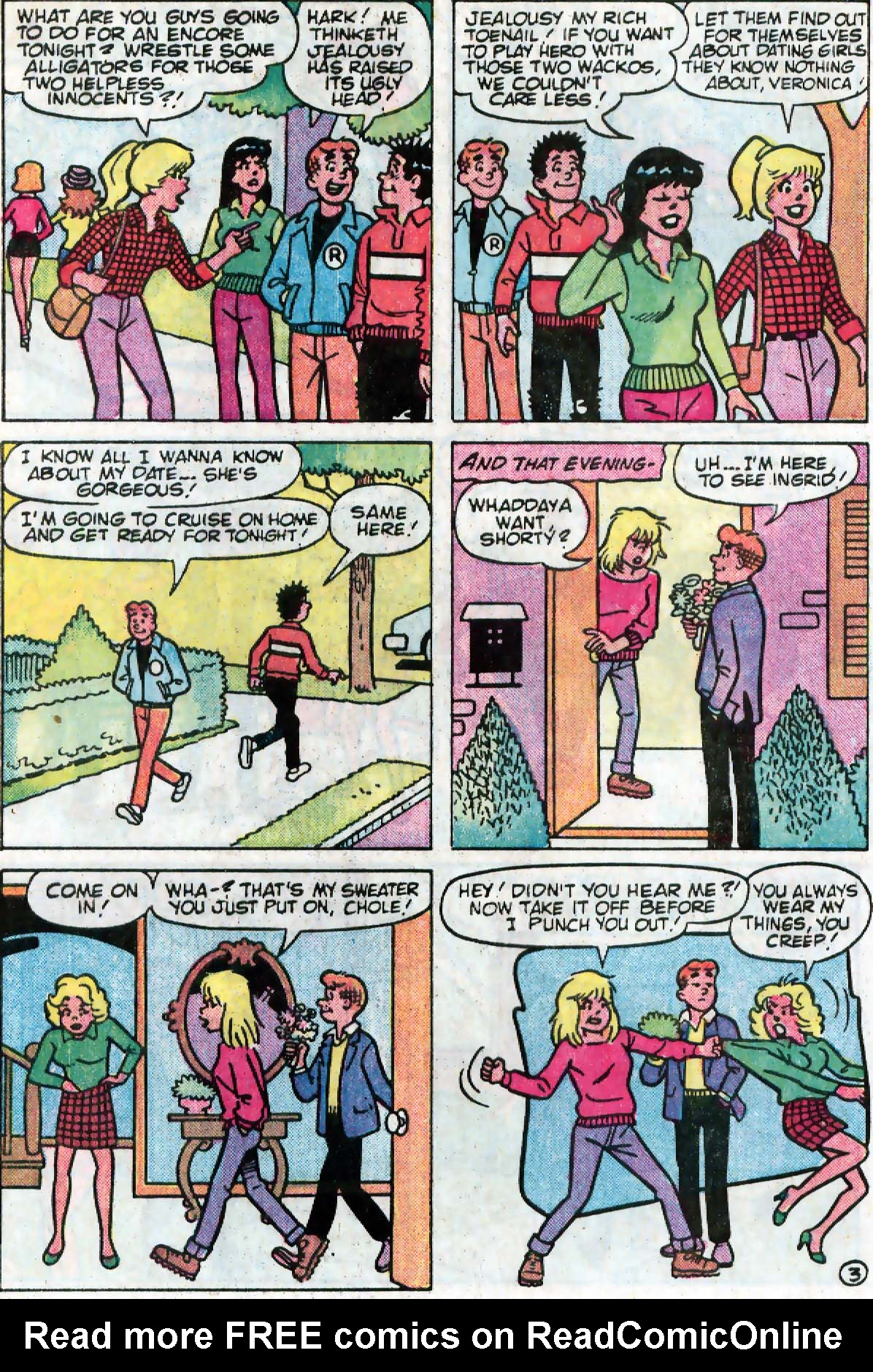 Read online Archie (1960) comic -  Issue #333 - 4