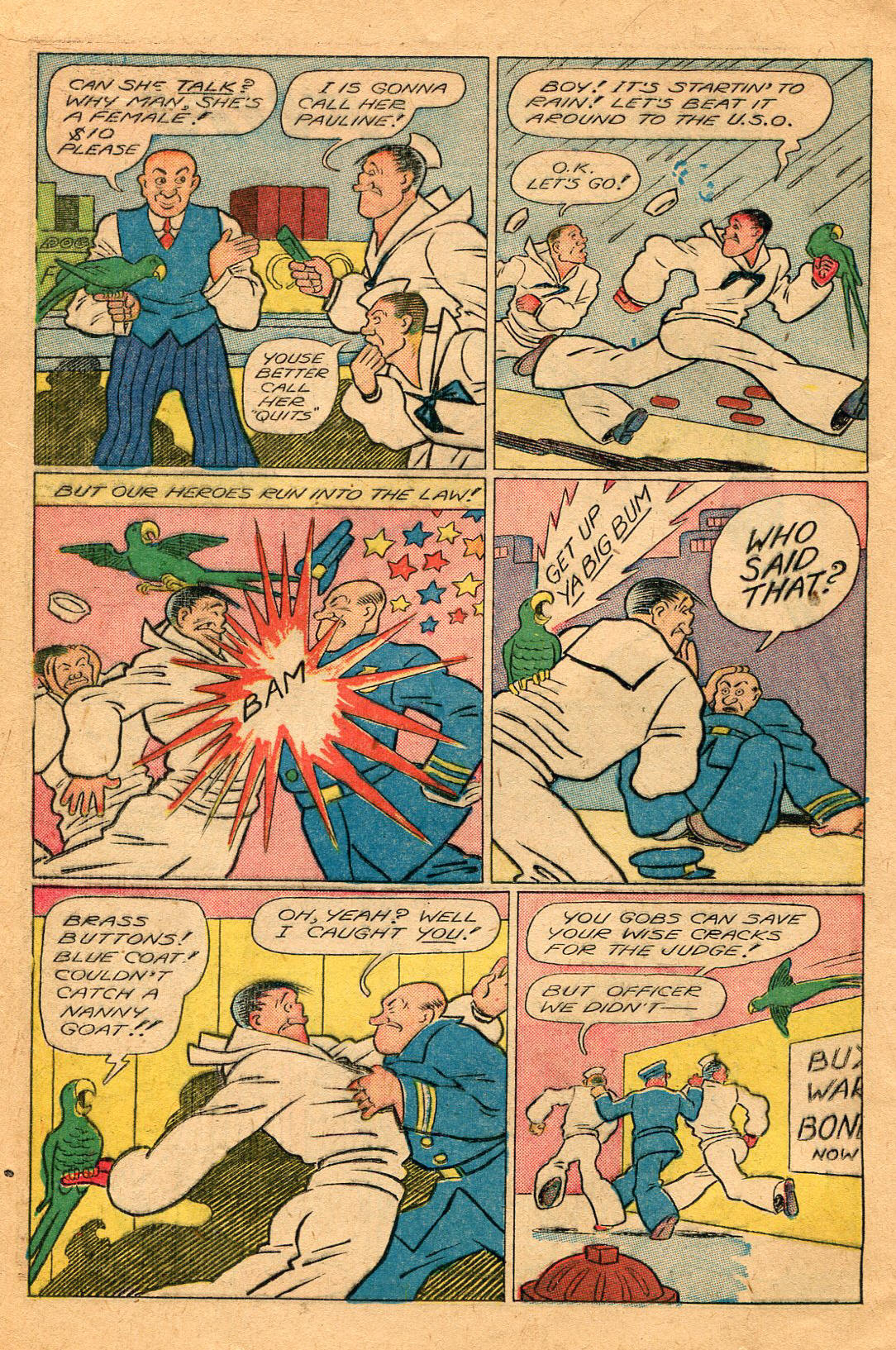 Read online Shadow Comics comic -  Issue #60 - 18