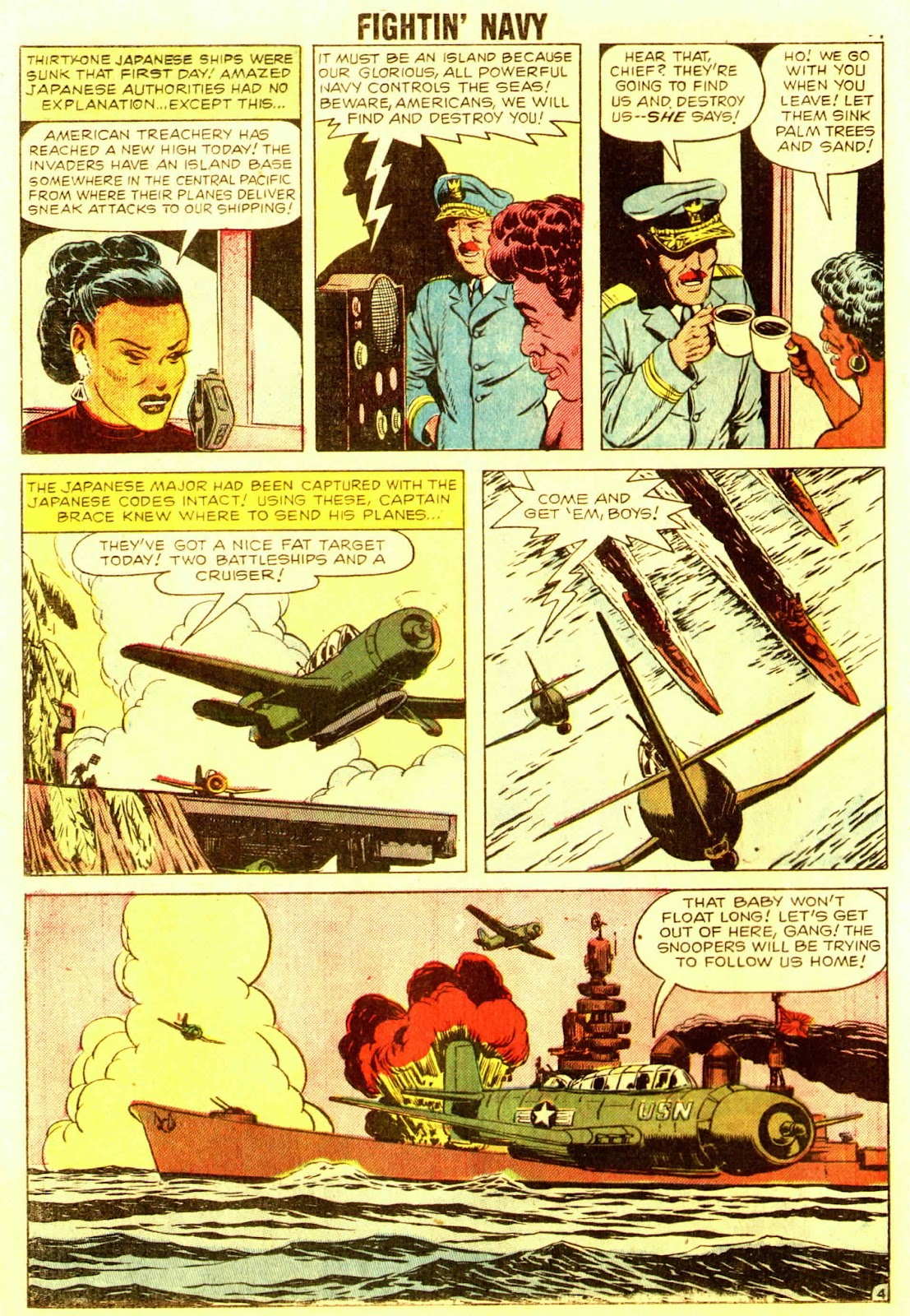 Read online Fightin' Navy comic -  Issue #83 - 86