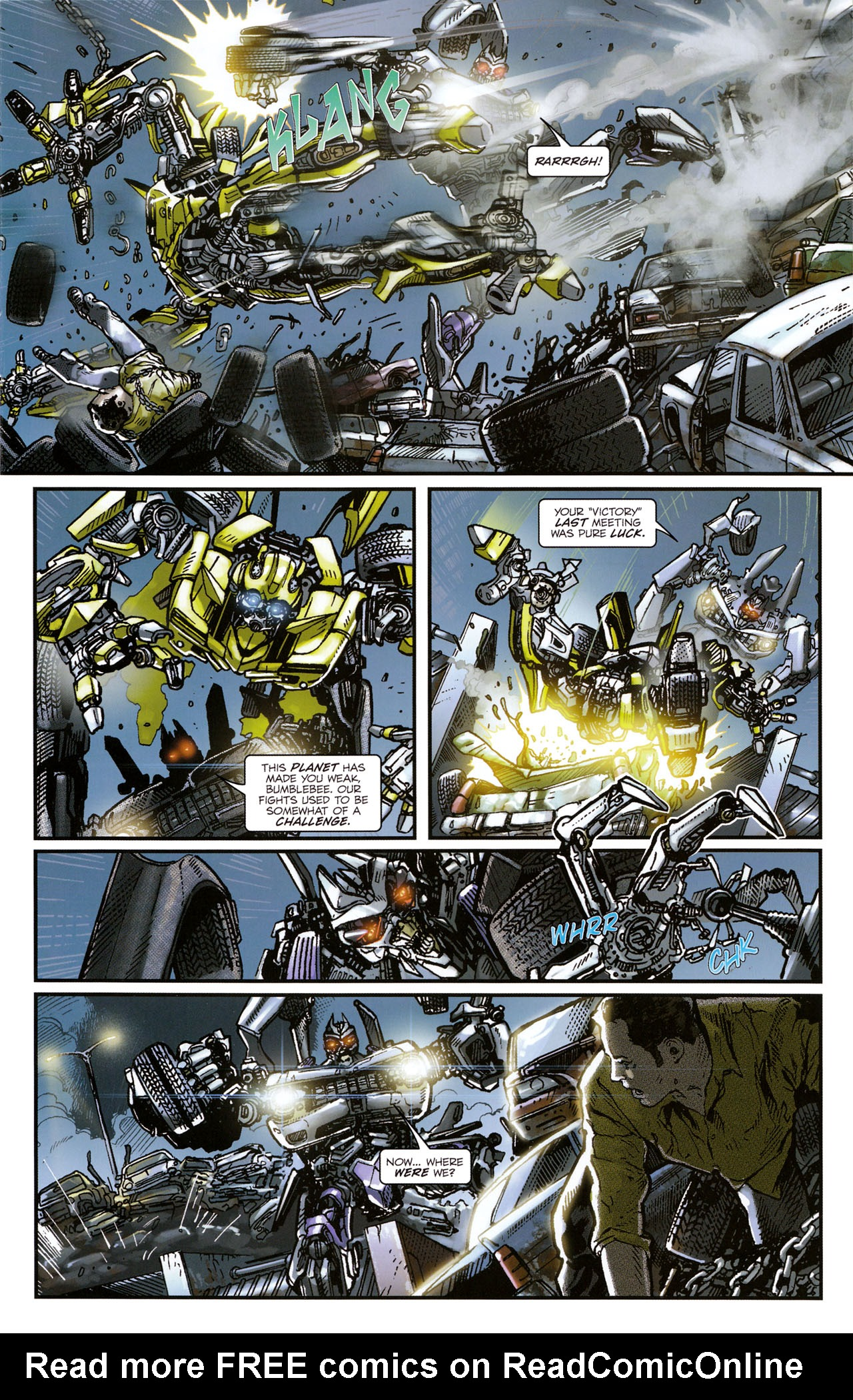 Read online Transformers: Tales of The Fallen comic -  Issue #1 - 15