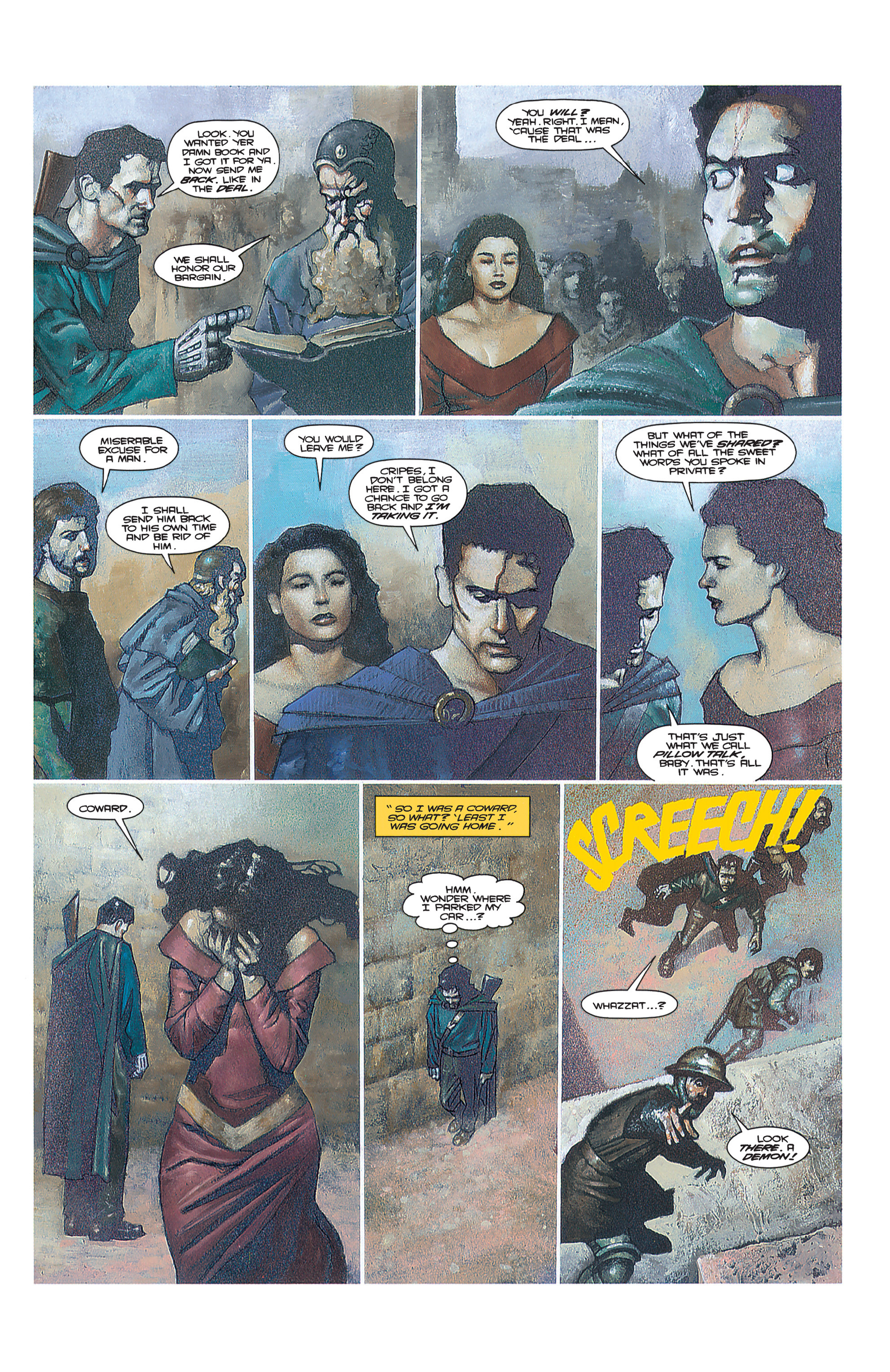 Read online Army of Darkness (1992) comic -  Issue #2 - 23