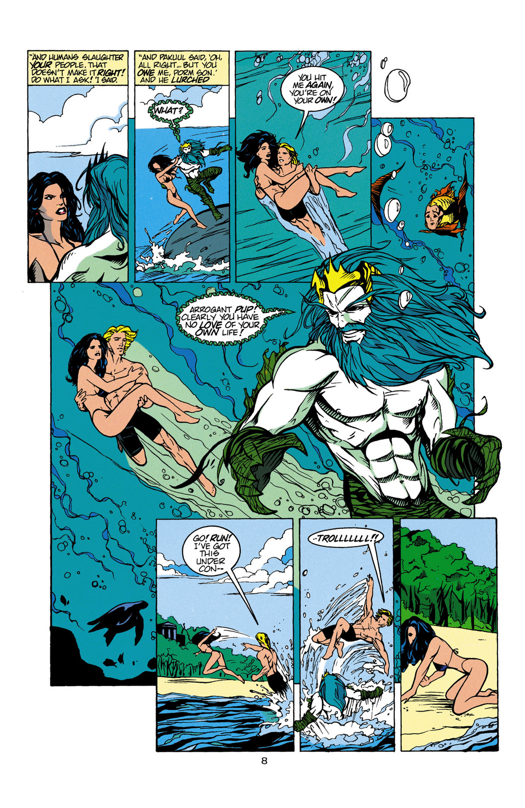 Read online Aquaman (1994) comic -  Issue #Aquaman (1994) _Annual 1 - 9