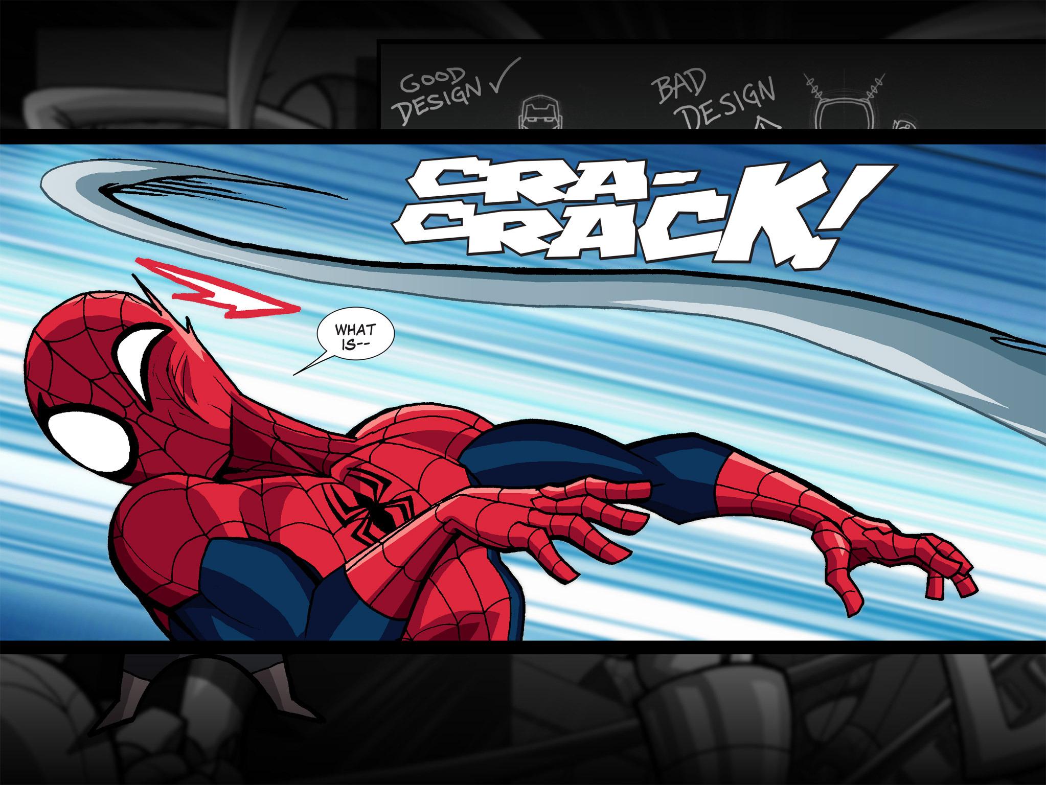 Read online Ultimate Spider-Man (Infinite Comics) (2015) comic -  Issue #1 - 44