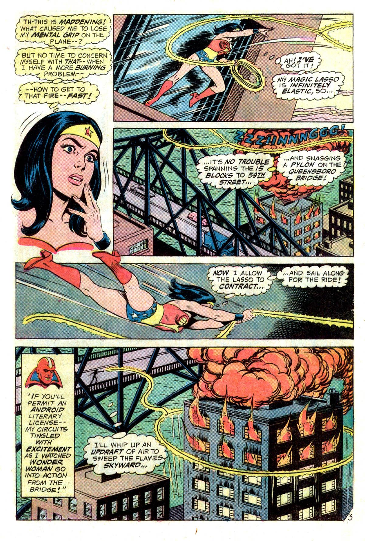 Read online Wonder Woman (1942) comic -  Issue #218 - 5
