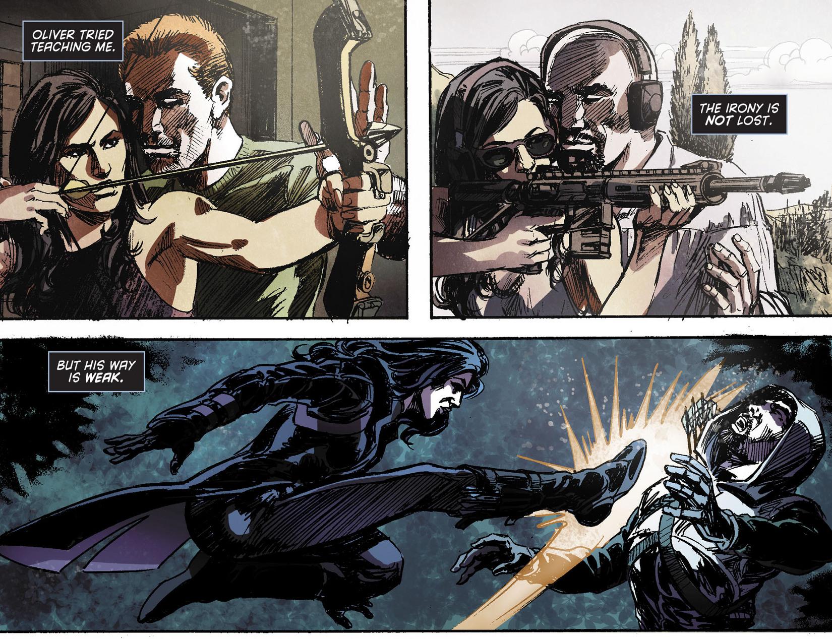 Read online Arrow [II] comic -  Issue #11 - 15