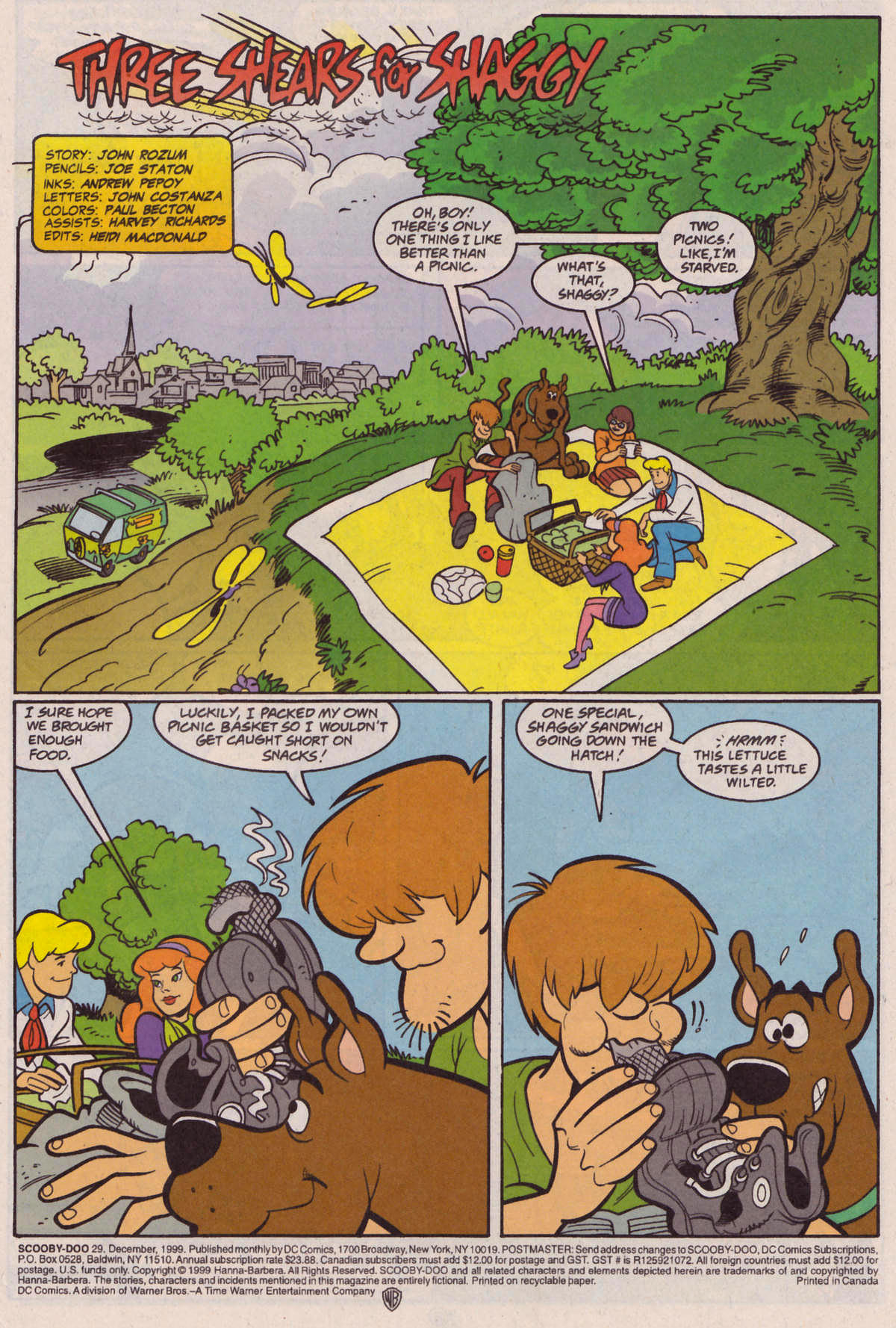 Read online Scooby-Doo (1997) comic -  Issue #29 - 2