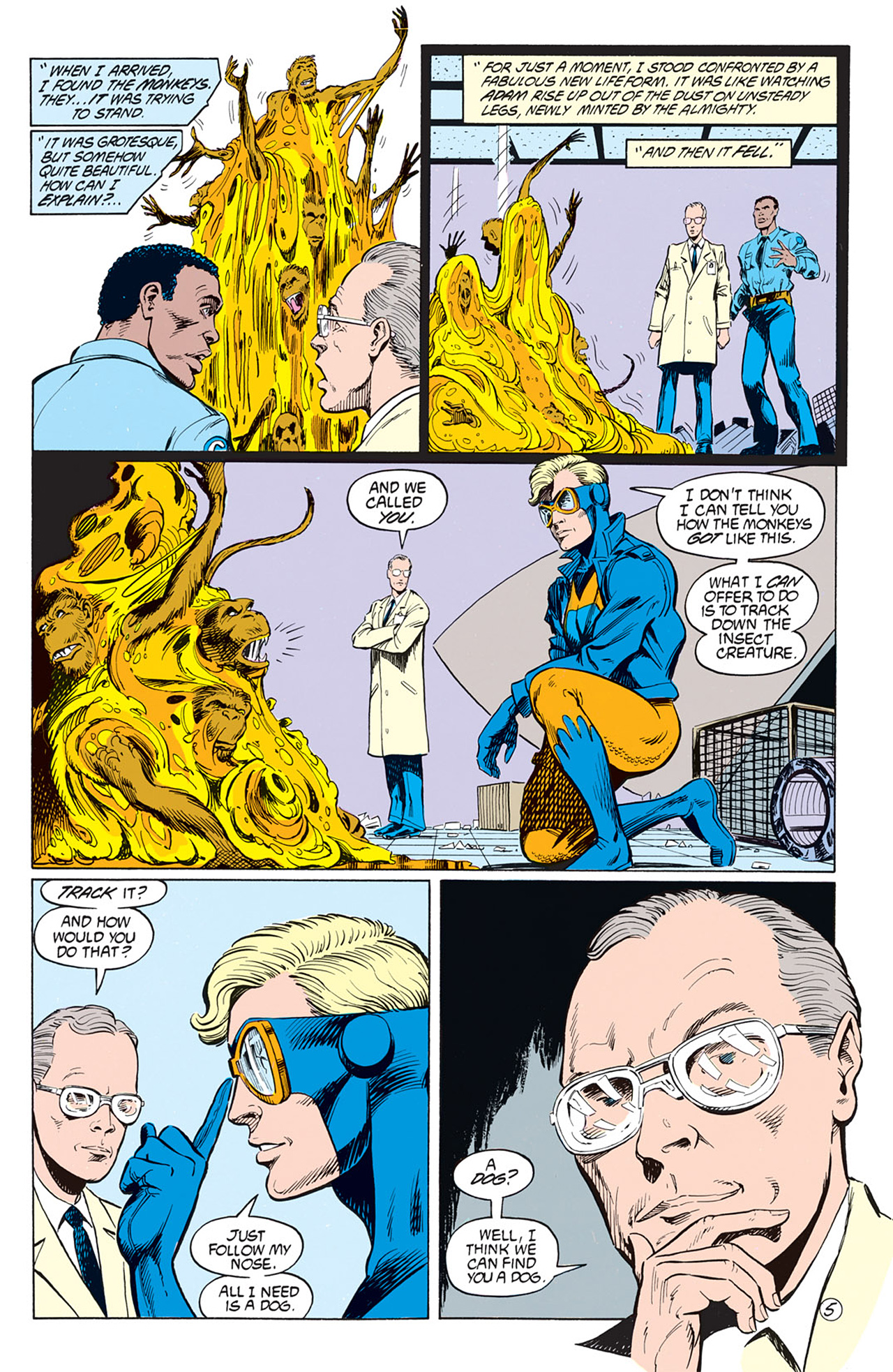 Read online Animal Man (1988) comic -  Issue #2 - 7