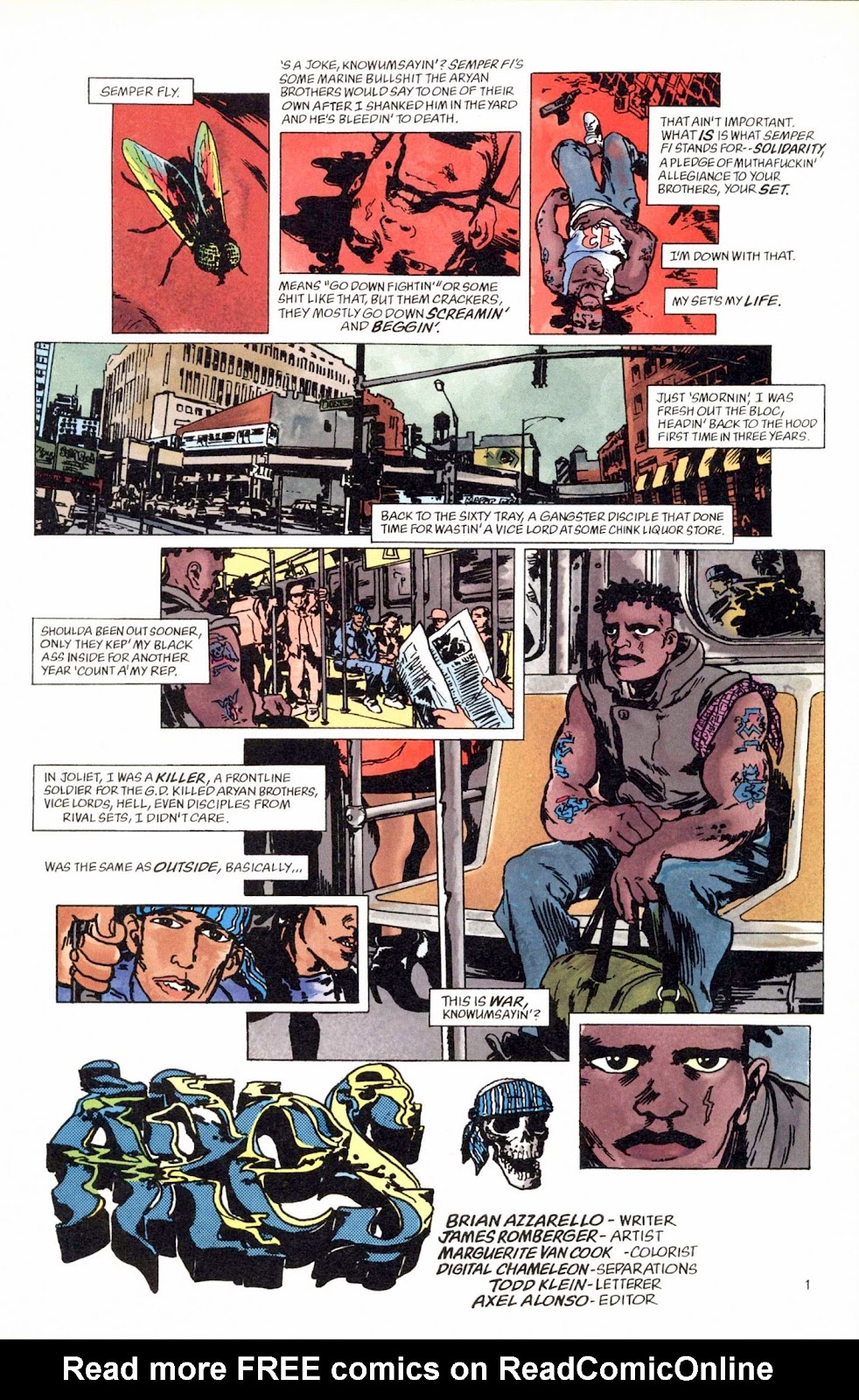 Read online Weird War Tales (1997) comic -  Issue #1 - 10