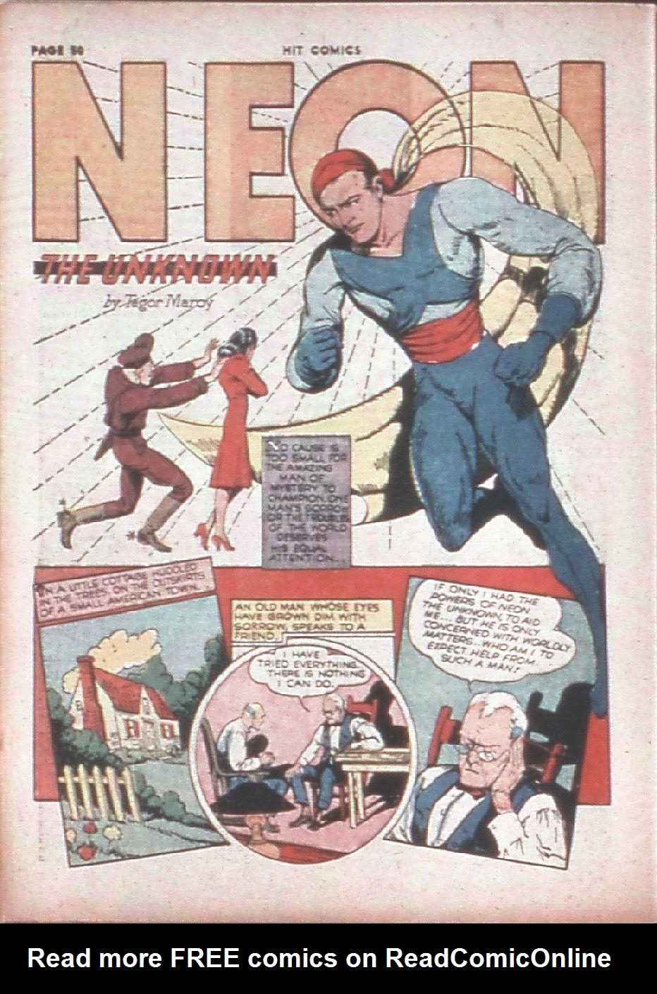 Read online Hit Comics comic -  Issue #8 - 52