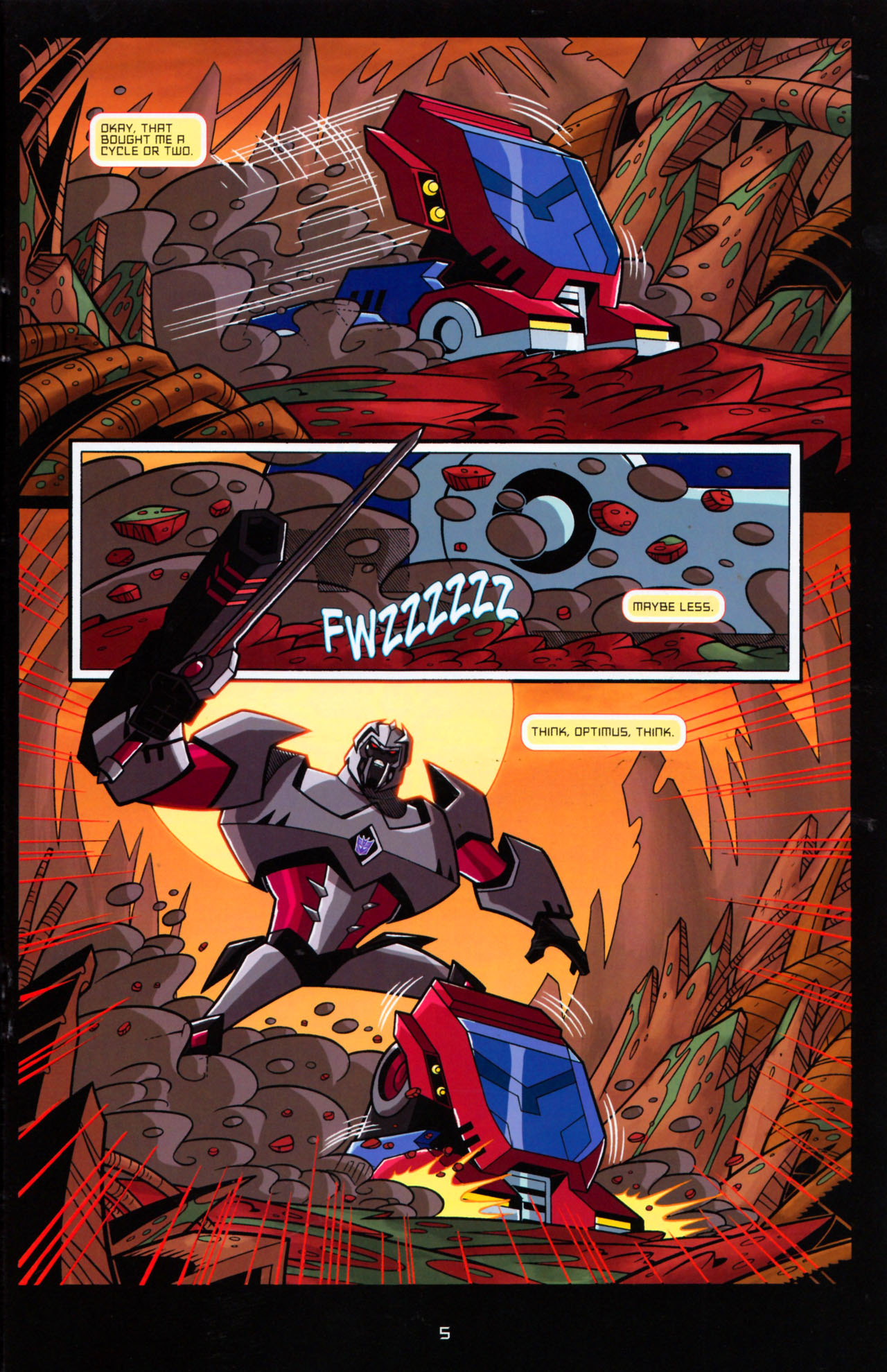Read online Transformers Animated: The Arrival comic -  Issue #5 - 9