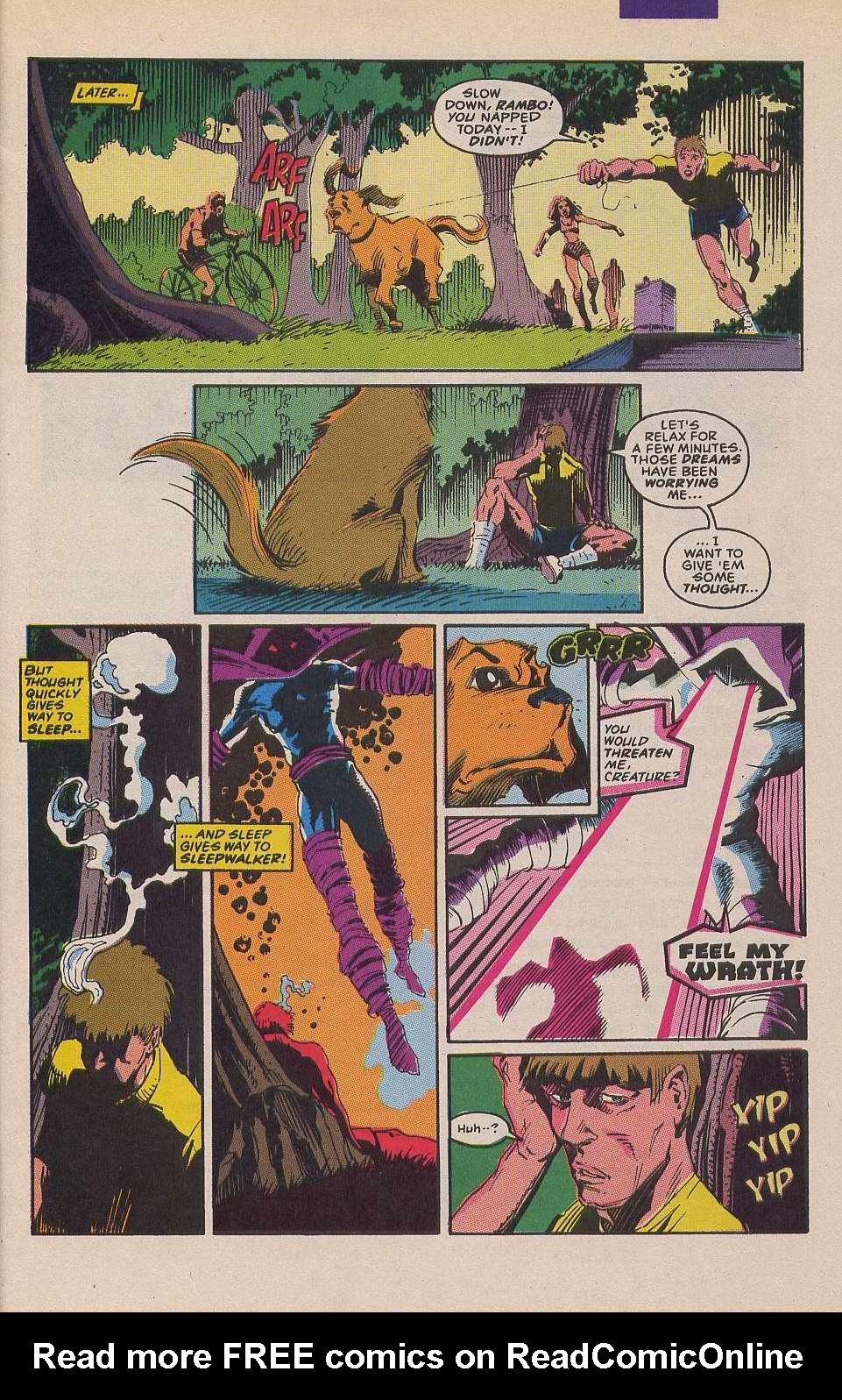 Read online Sleepwalker comic -  Issue #12 - 9