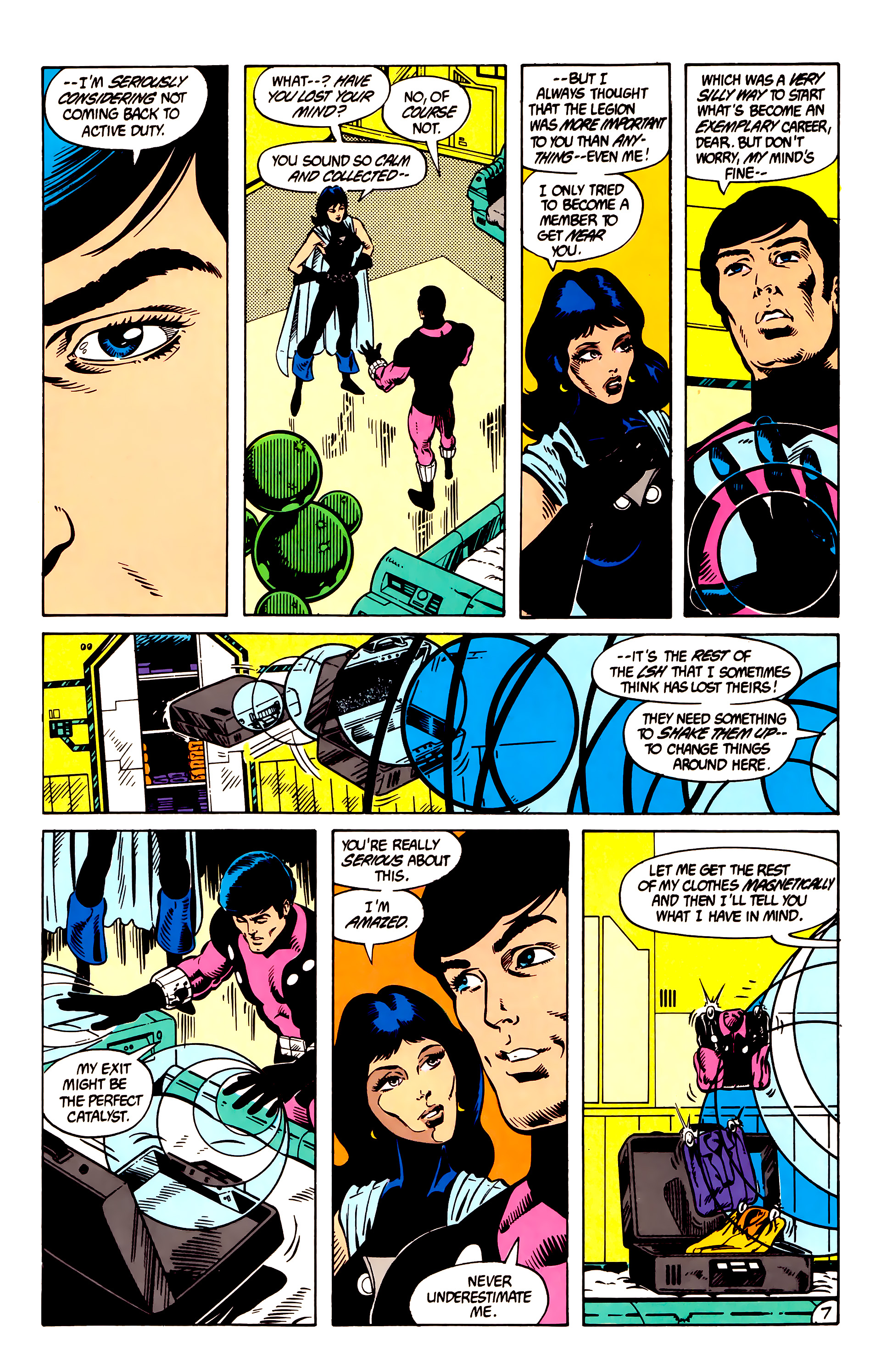Legion of Super-Heroes (1984) 8 Page 8