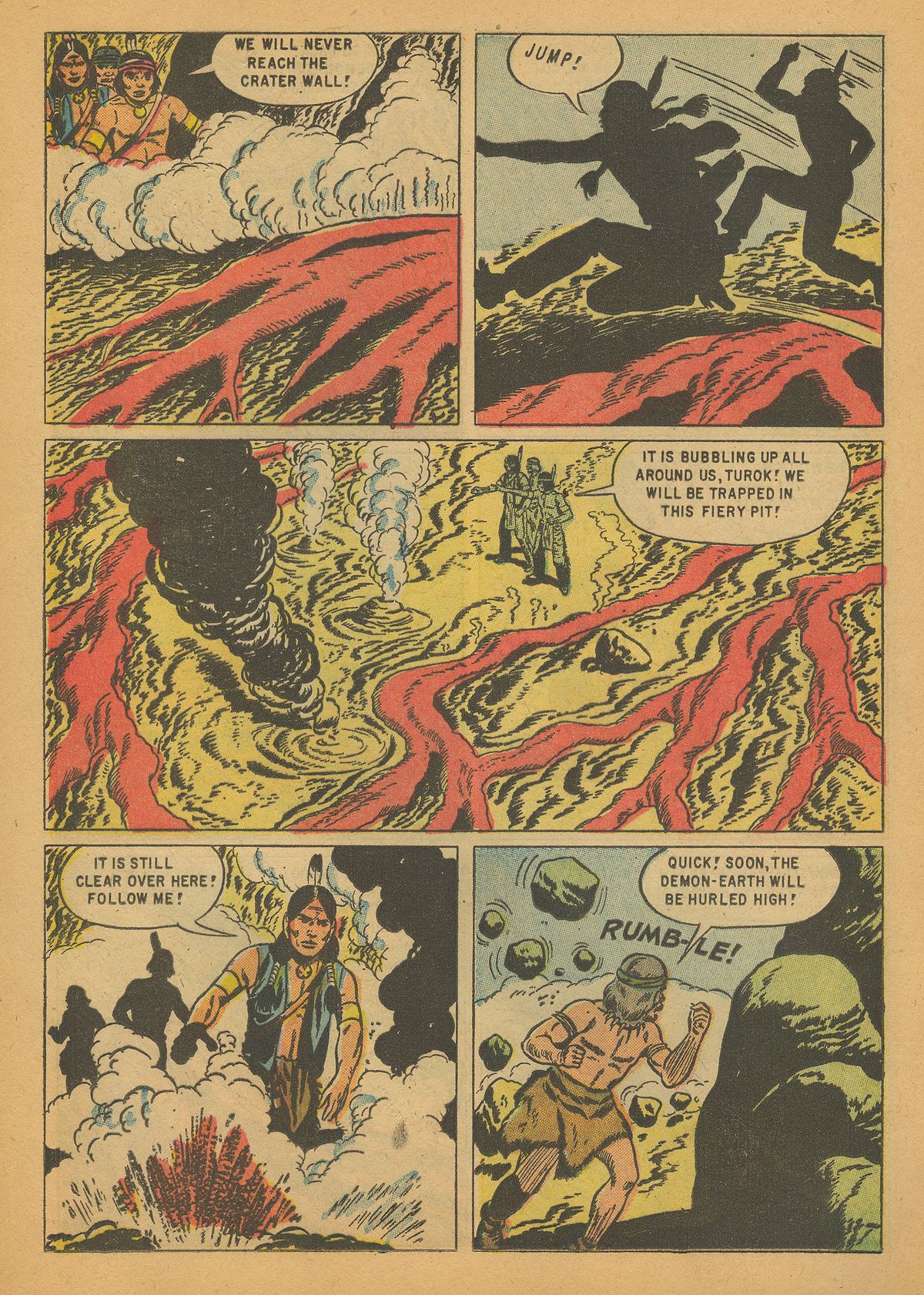 Read online Turok, Son of Stone comic -  Issue #14 - 12