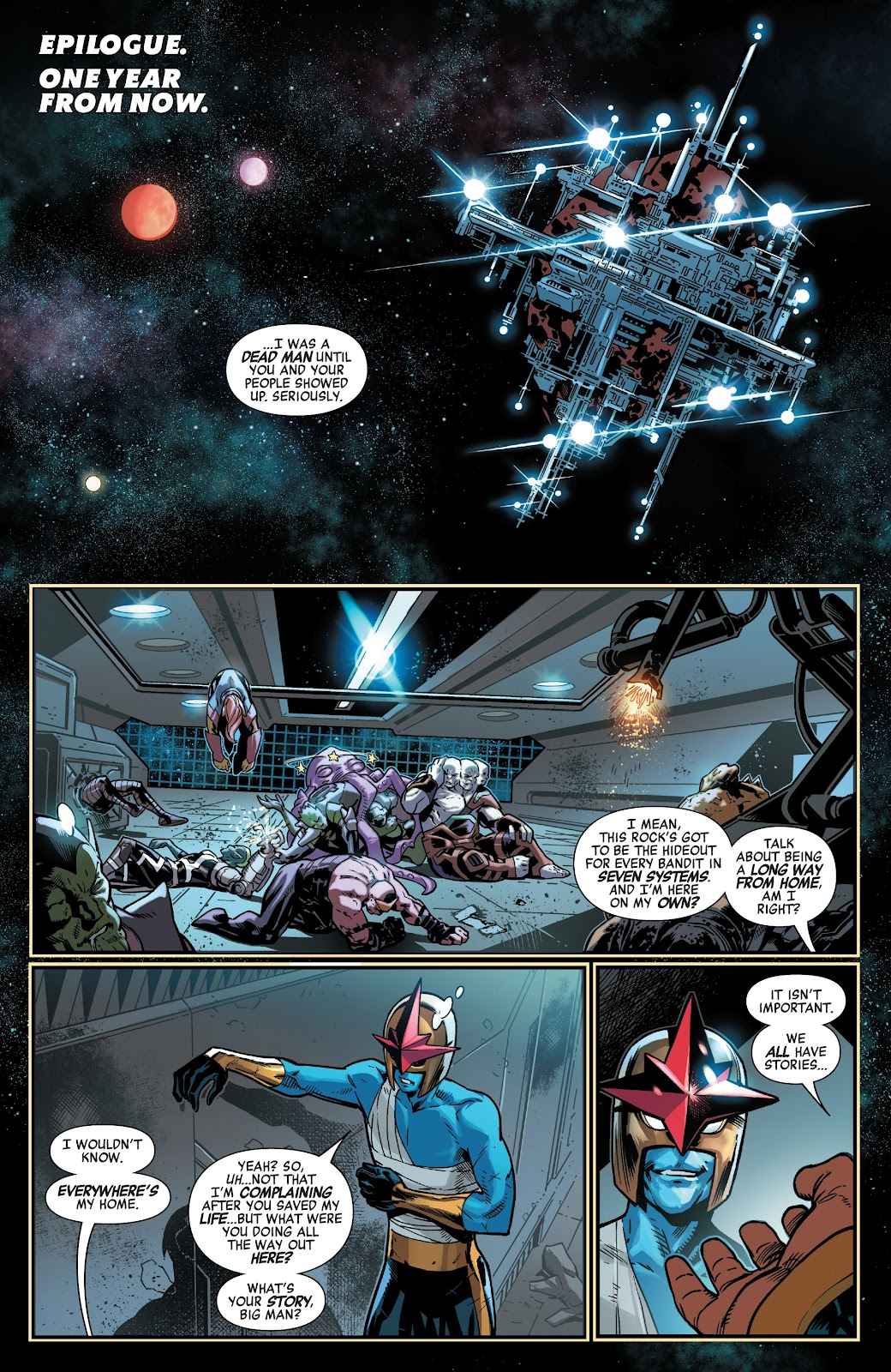 Read online Avengers No Road Home comic -  Issue #10 - 31