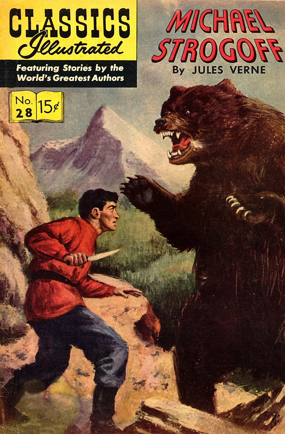 Classics Illustrated 28 Page 1
