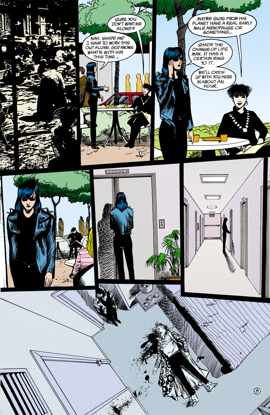 Read online Shade, the Changing Man comic -  Issue #13 - 9