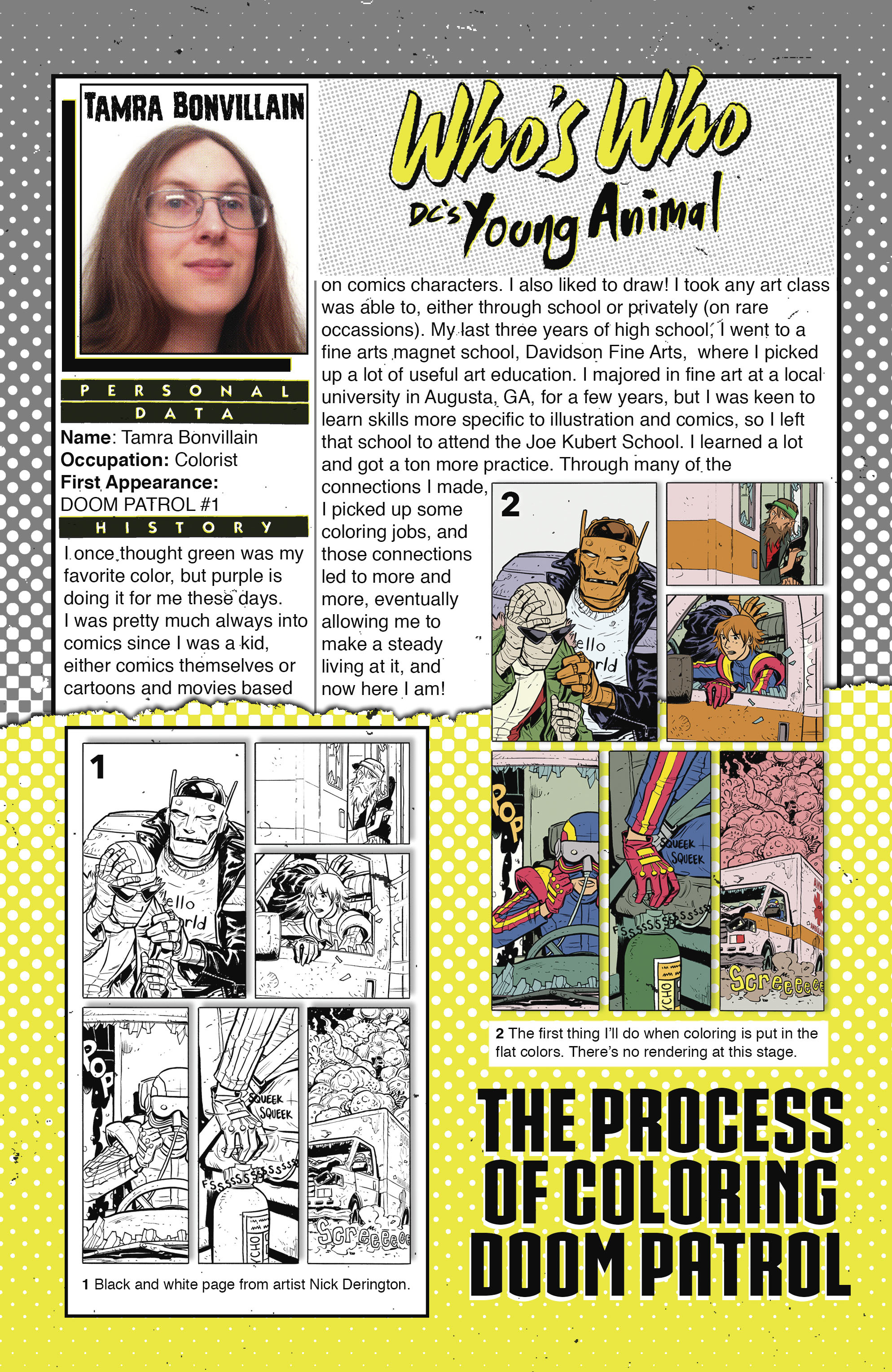 Read online Shade, the Changing Girl comic -  Issue #8 - 28