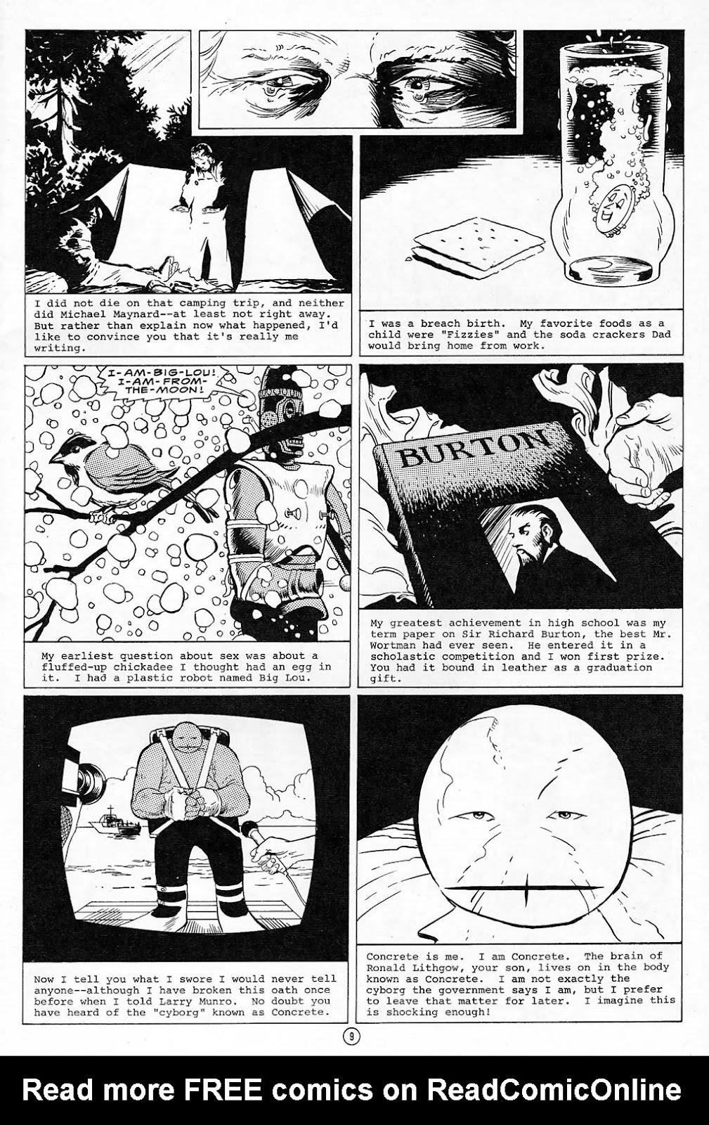 Comic Concrete issue 10