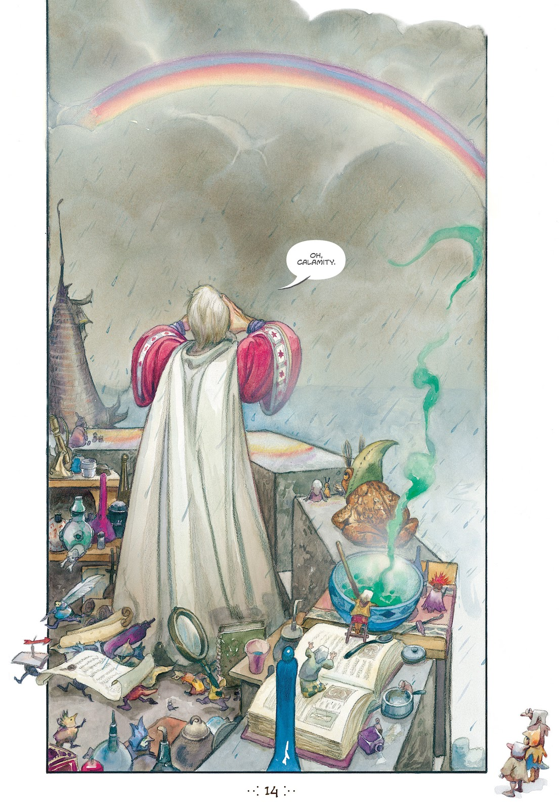 Read online The Wizard's Tale comic -  Issue # TPB - 13