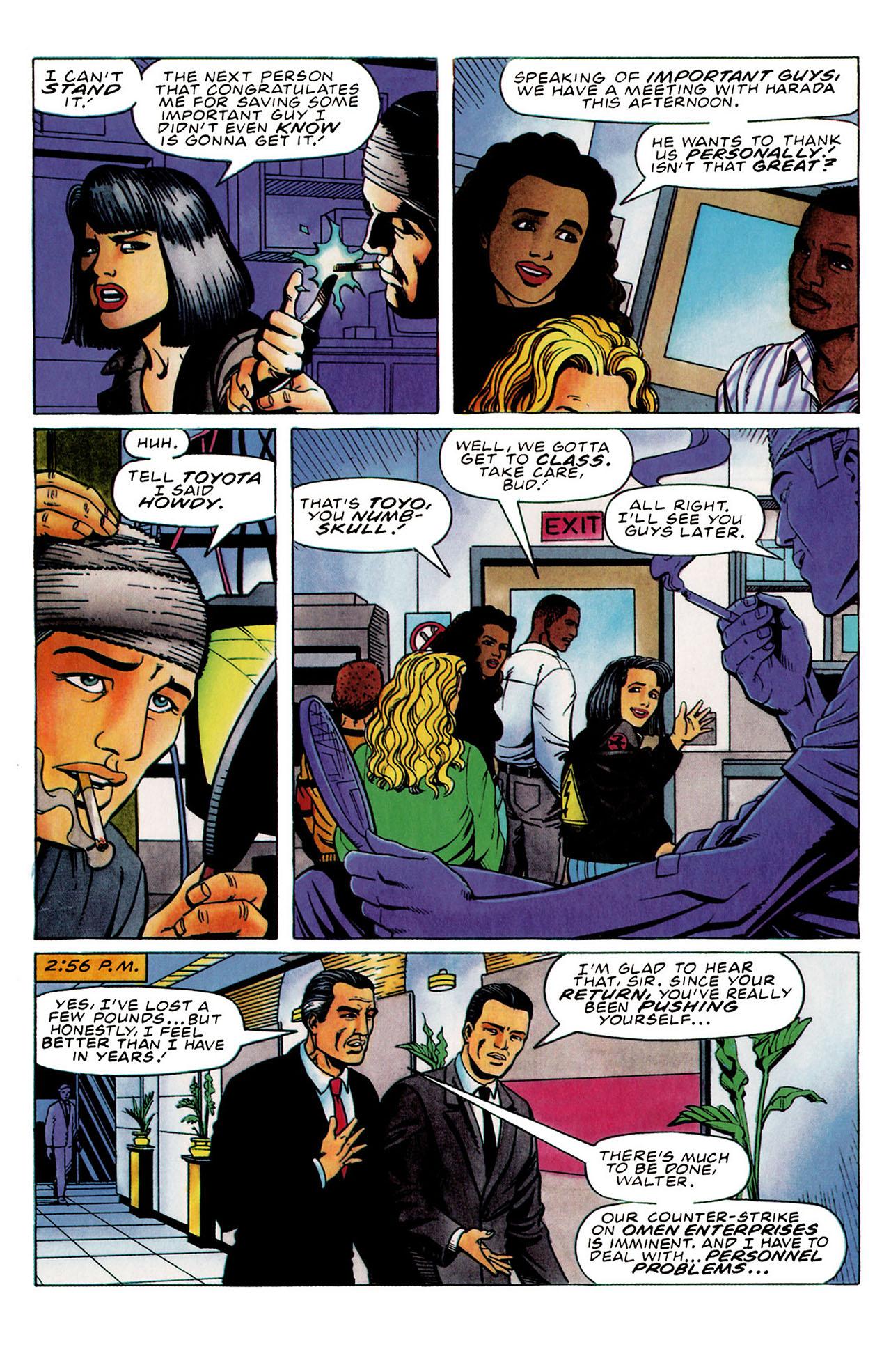 Read online Harbinger (1992) comic -  Issue #31 - 8