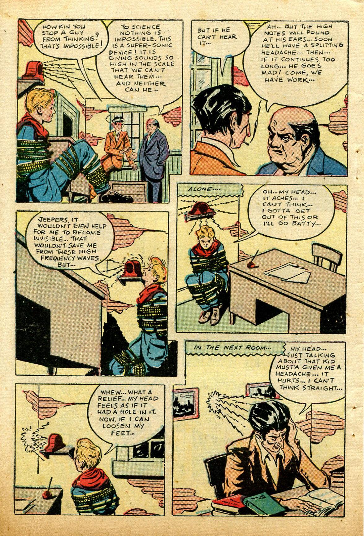 Read online Shadow Comics comic -  Issue #74 - 48