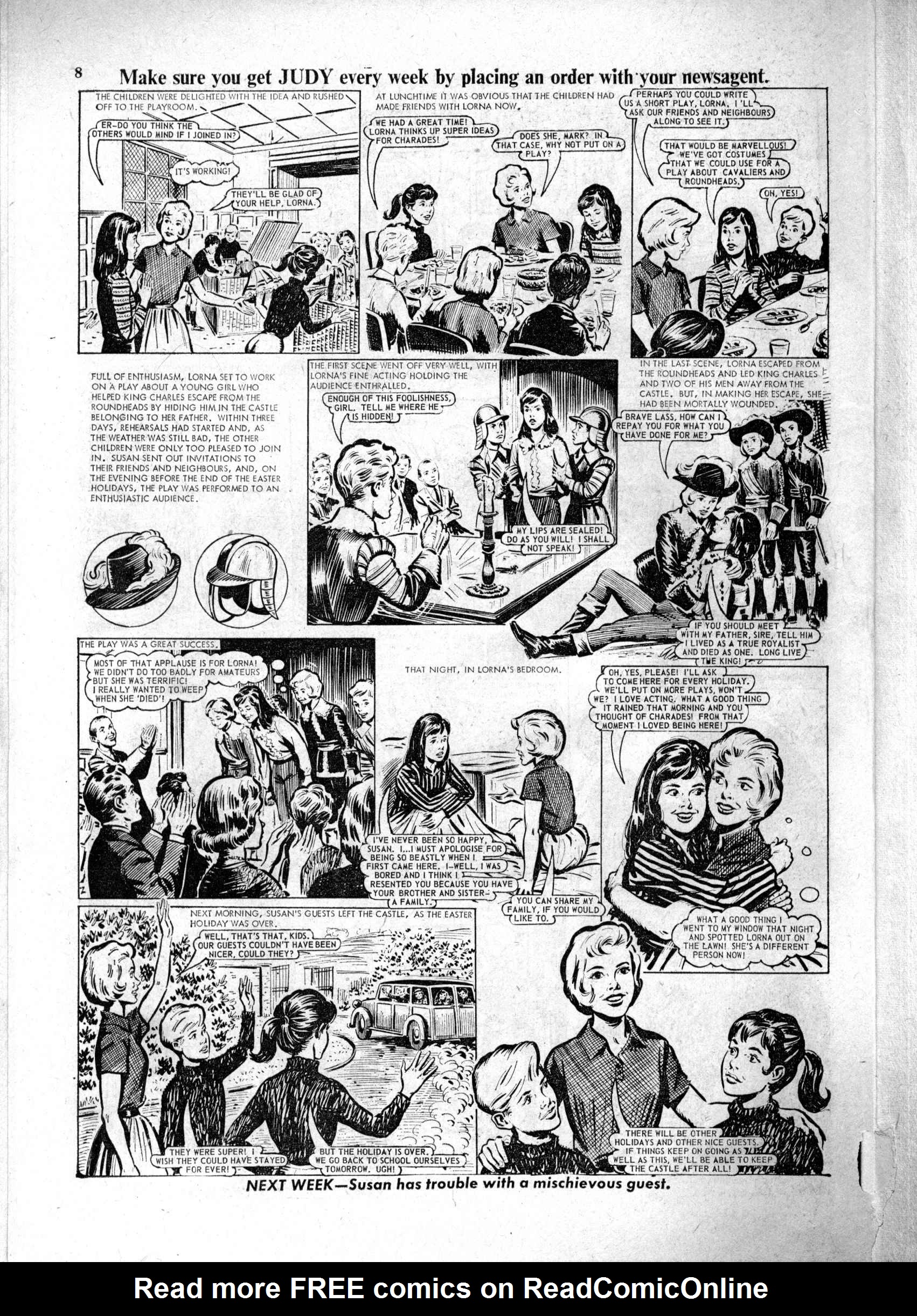 Read online Judy comic -  Issue #229 - 8