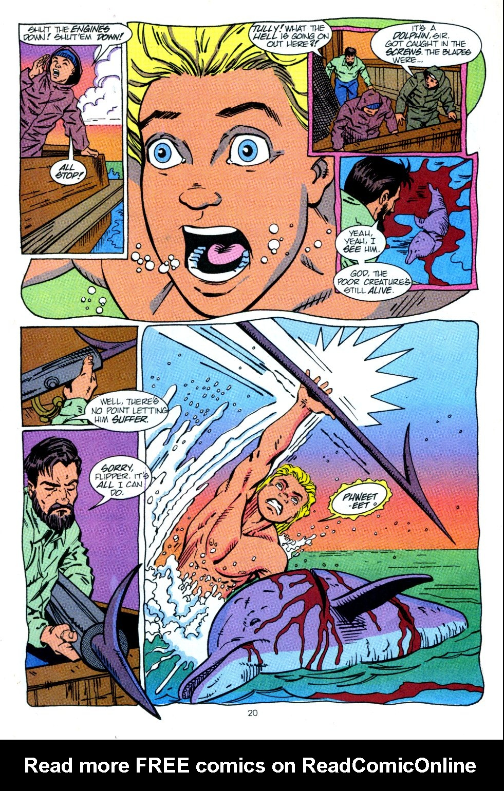 Read online Aquaman: Time and Tide comic -  Issue #2 - 21