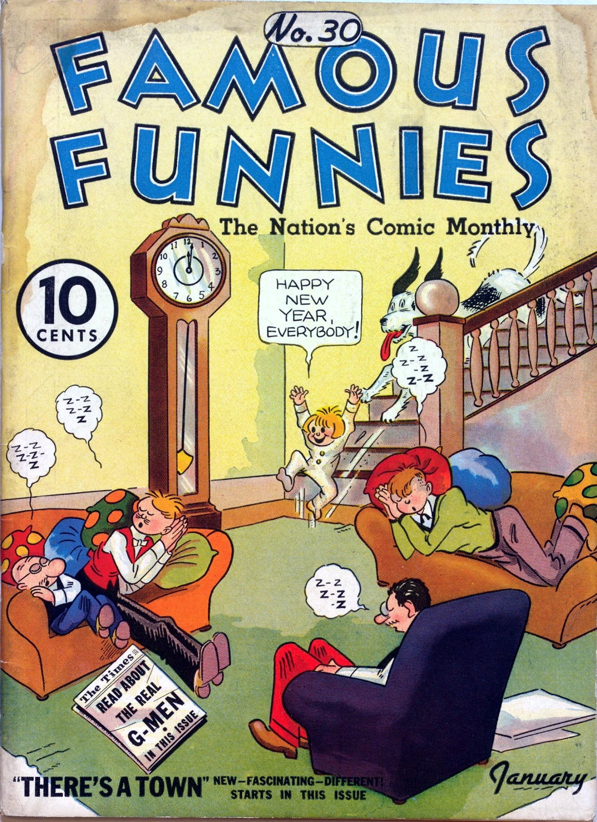 Read online Famous Funnies comic -  Issue #30 - 1